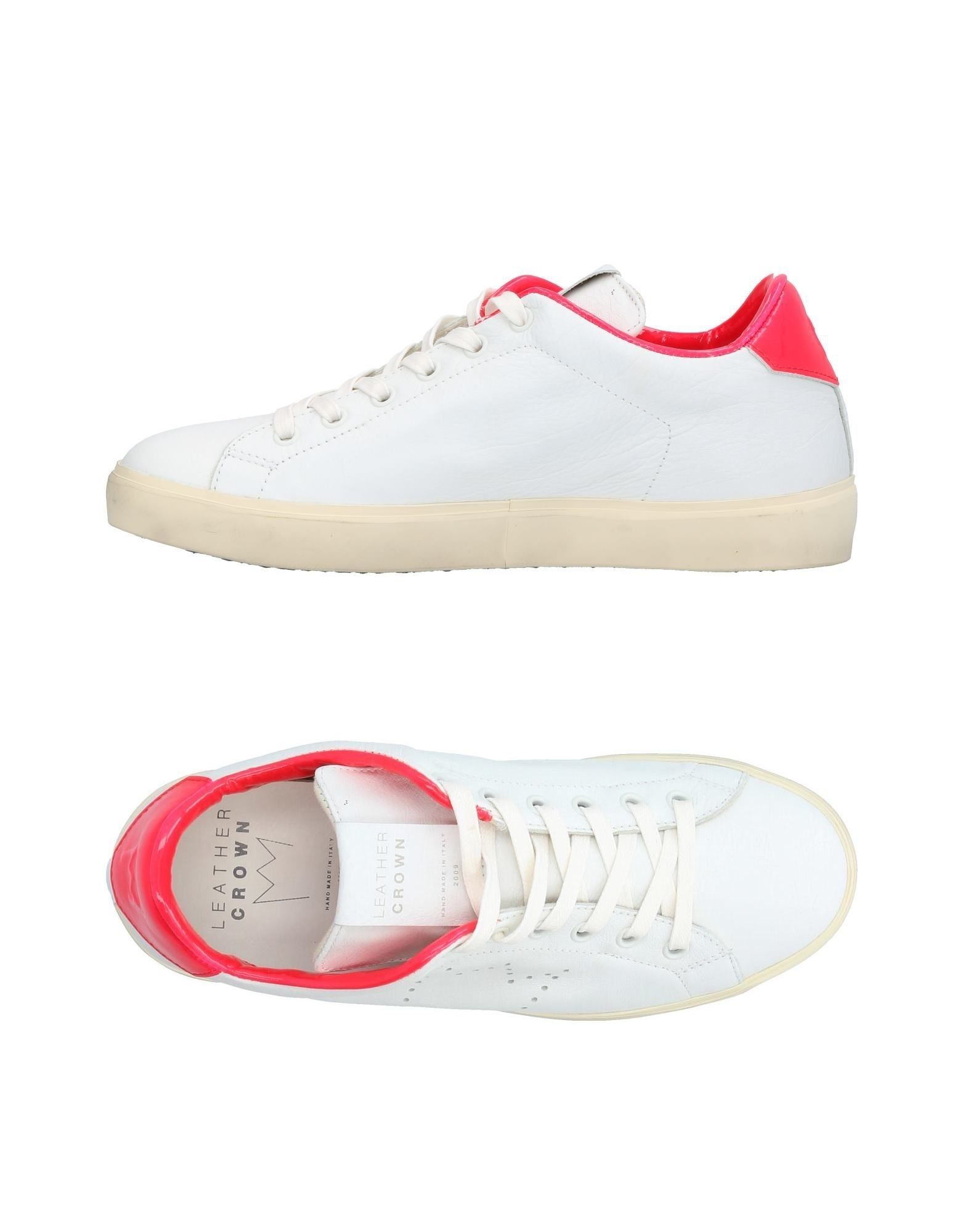 Sneakers Leather Crown Donna - 11395112PB