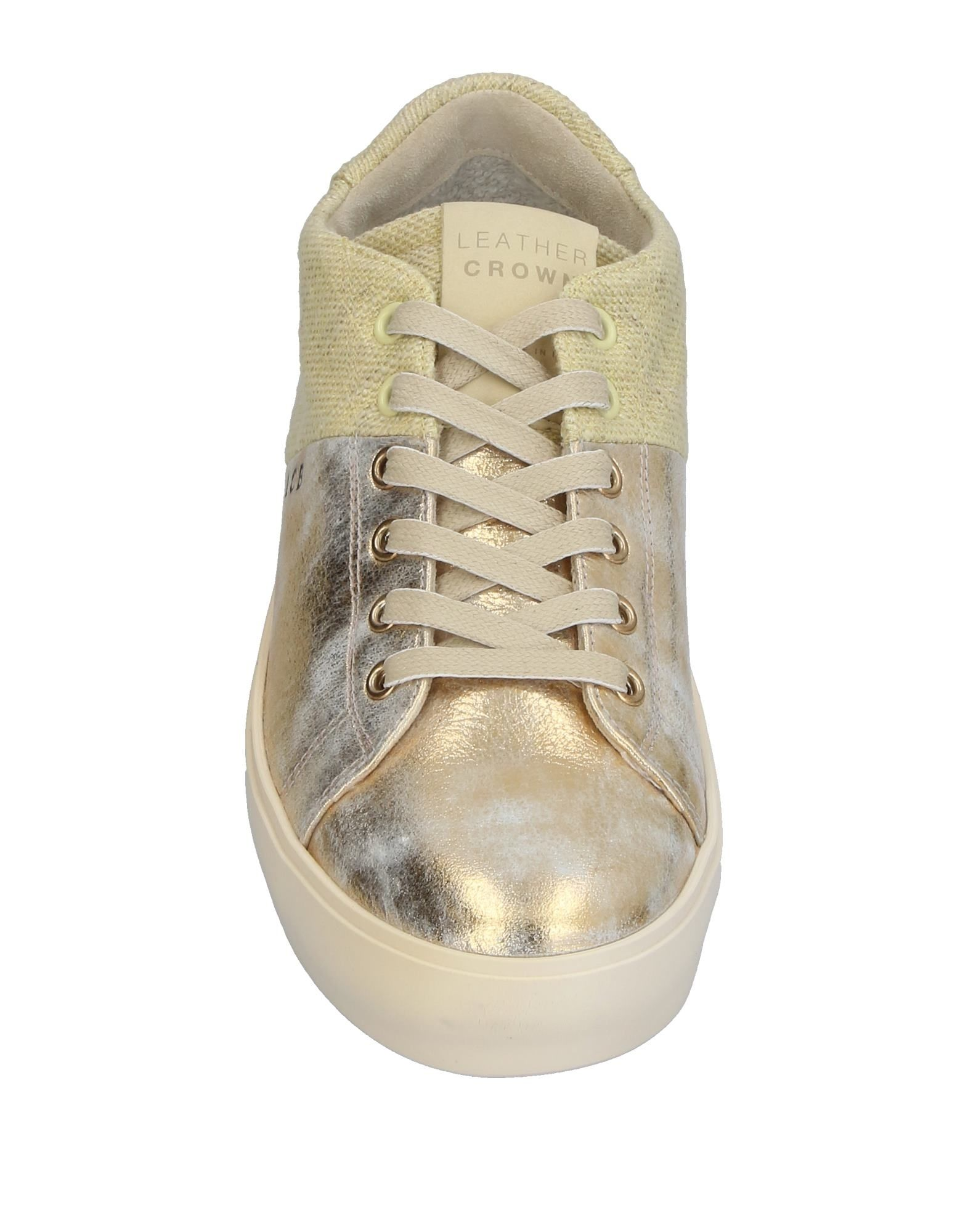 Leather Crown Sneakers Sneakers Crown Damen  11395114HC e178ae