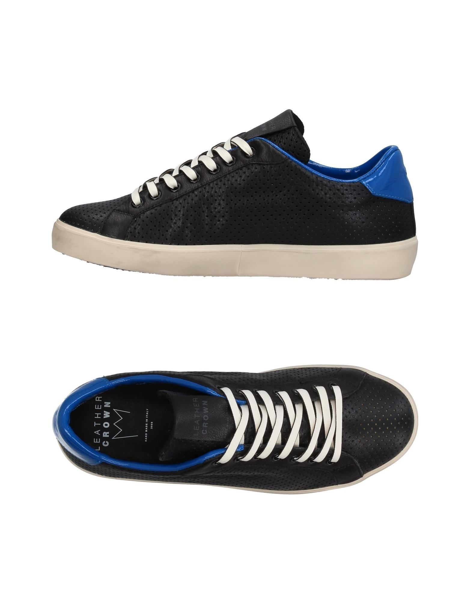 Leather Herren Crown Sneakers Herren Leather  11395121RM 2de952