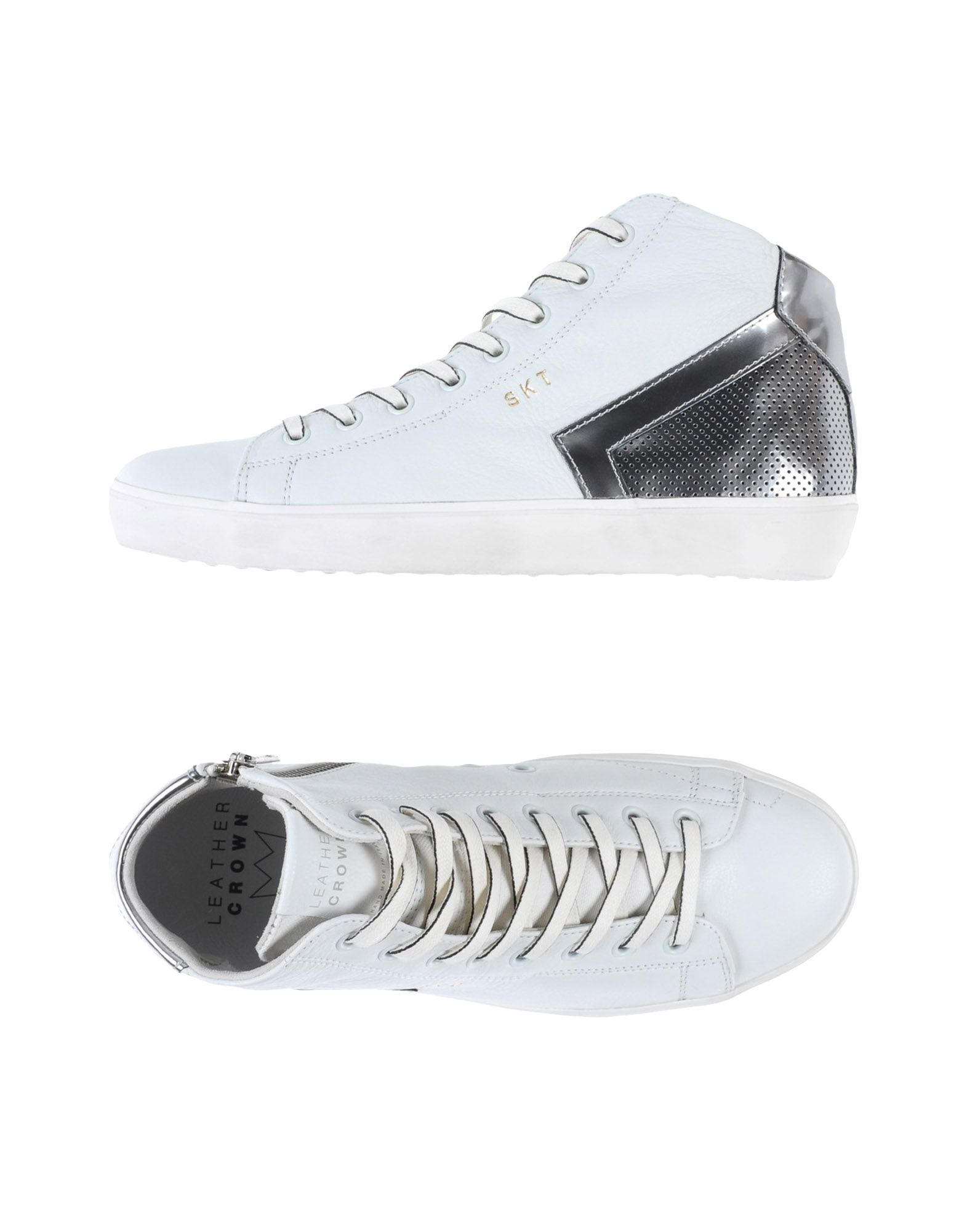 Sneakers Leather Crown Donna - 11395157SI