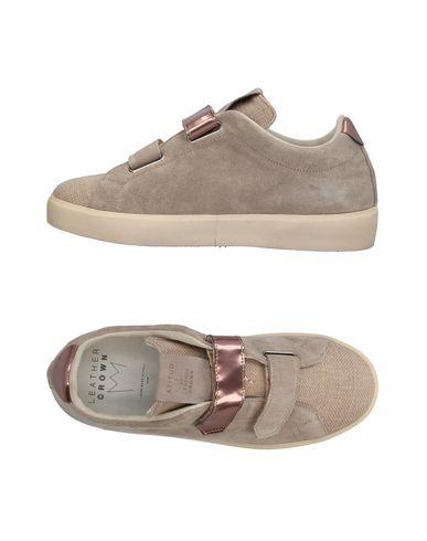 Los últimos zapatos de hombre y mujer Zapatillas Leather Crown Mujer - Zapatillas Leather Crown - 11395159QF Gris perla