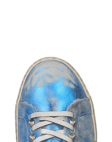 Leather Crown Crown Leather Sneakers Bleu Sneakers a4xU0wxq