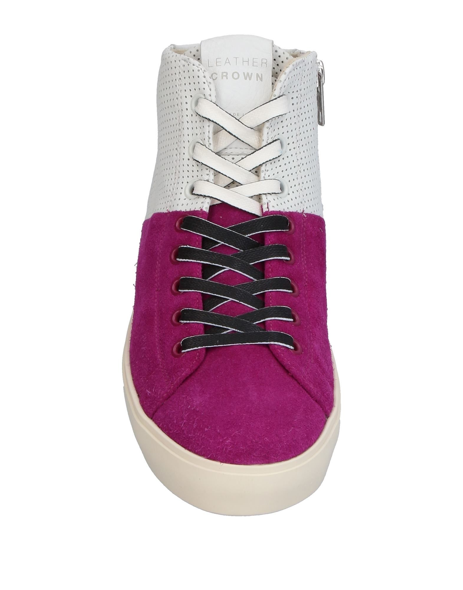 Sneakers Leather Crown Crown Crown Donna - 11395166SP f04690
