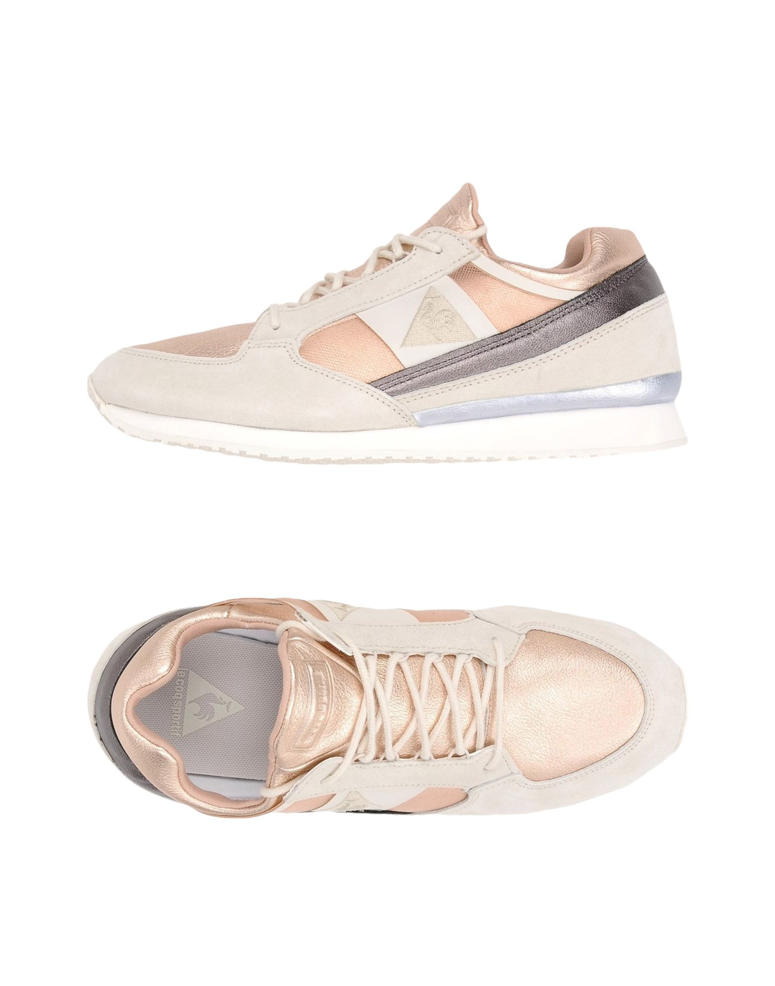 Le Coq Sportif Eclat Atl Metallic Leather Mix - Sneakers Sneakers - - Women Le Coq Sportif Sneakers online on  United Kingdom - 11395319KH 10dc65