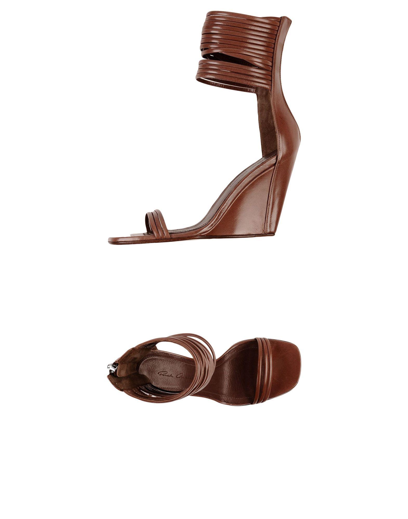 Rick Owens Damen Sandalen Damen Owens 11395595KJGünstige gut aussehende Schuhe 8d2396