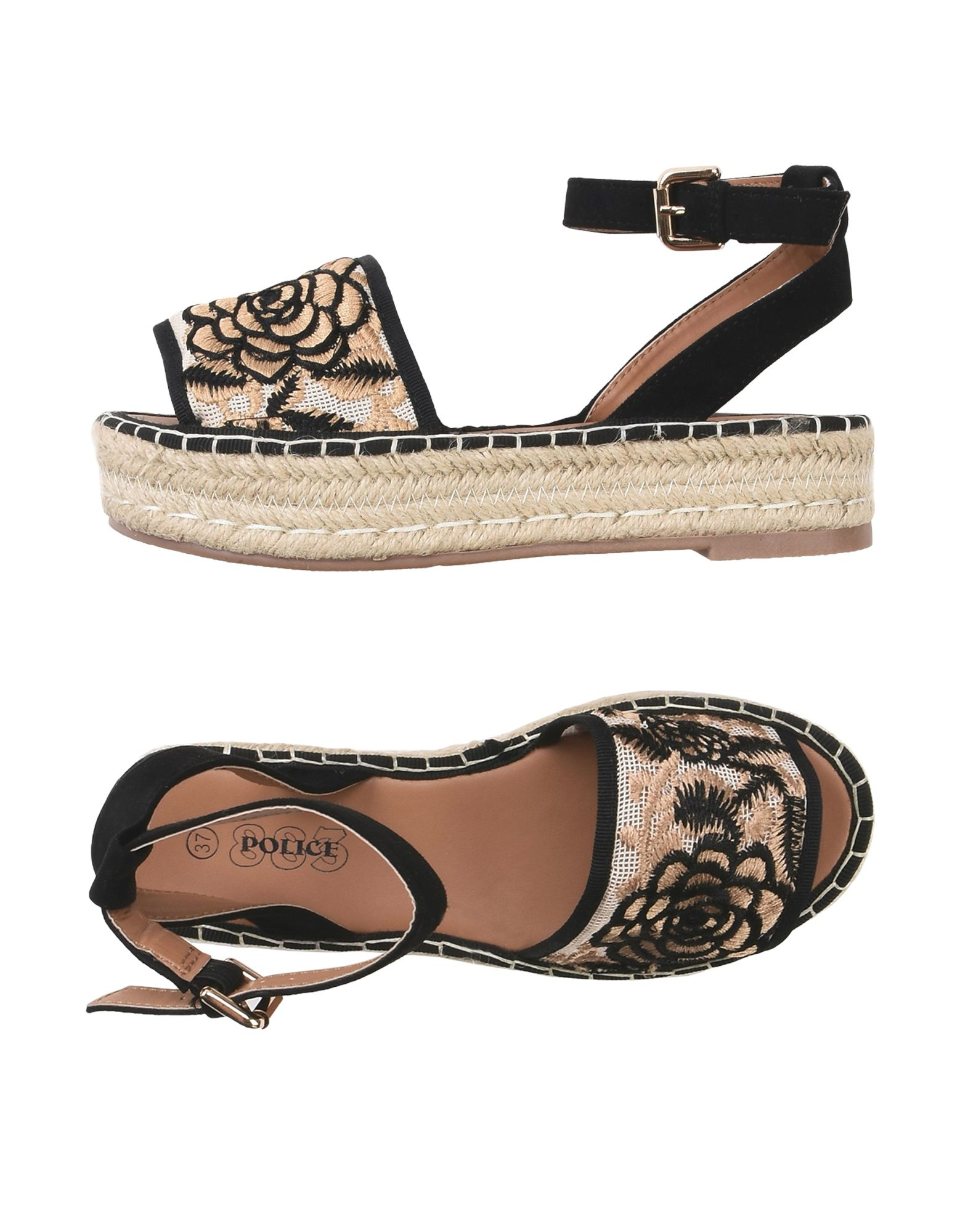 Police 883 Espadrilles Damen  11395745RF Gute Qualität beliebte Schuhe