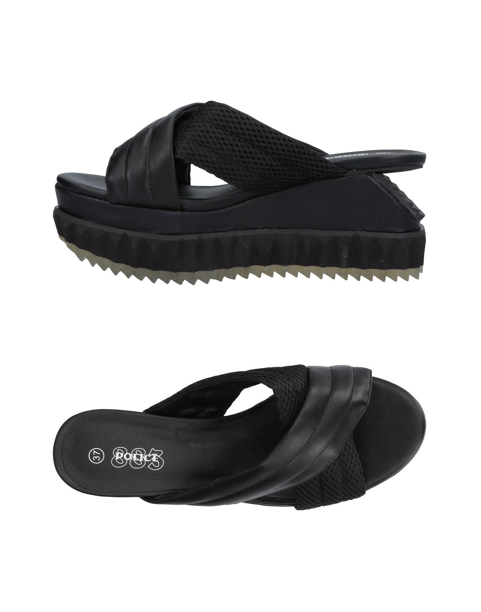 Police 883 Sandalen Damen  11395754PX Neue Schuhe