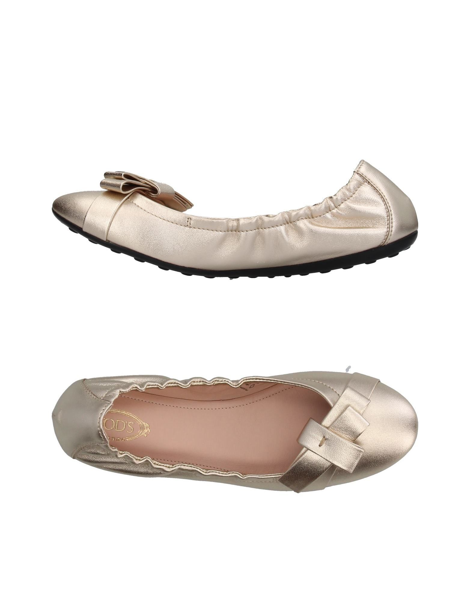 Haltbare Mode billige Schuhe Tod's Ballerinas Damen  11395963GV Heiße Schuhe