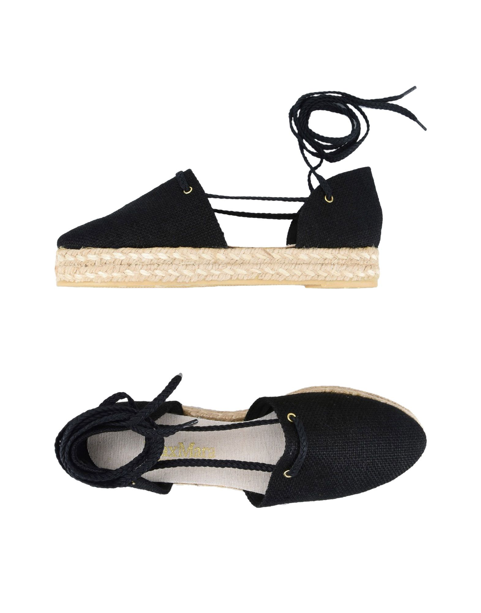 Stilvolle billige Schuhe Max Mara Espadrilles Damen  11396594OE