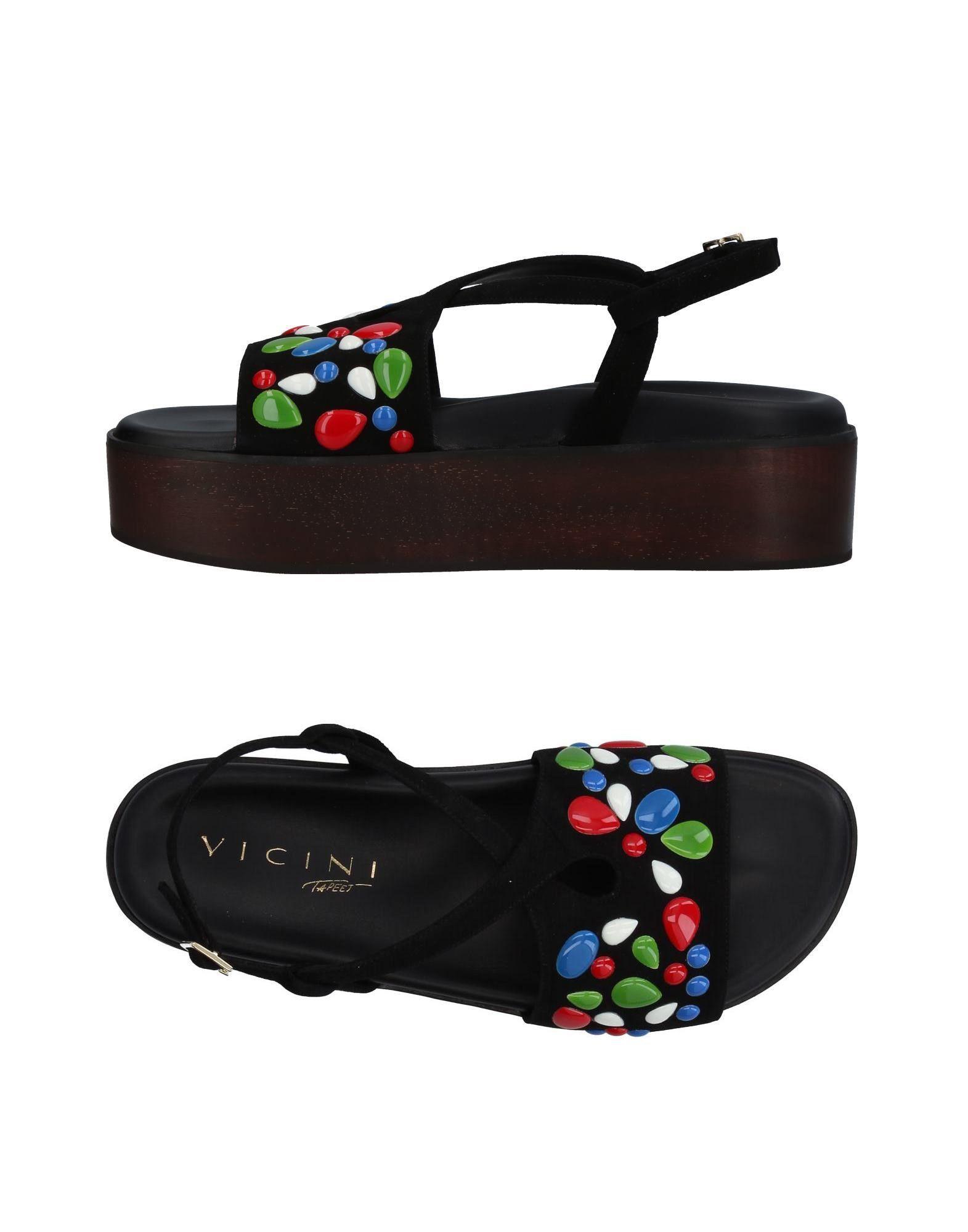 Vicini Tapeet Sandalen Damen  11397014RI Gute Qualität beliebte Schuhe