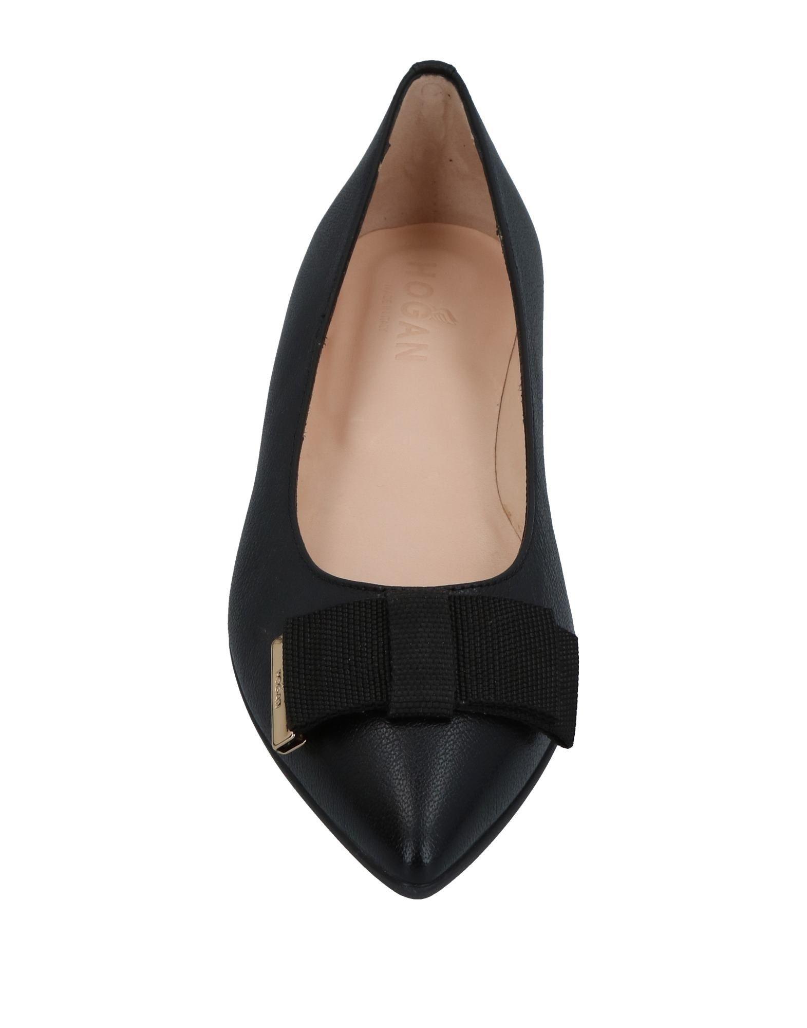 Hogan aussehende Ballerinas Damen  11397188LDGut aussehende Hogan strapazierfähige Schuhe f3b615