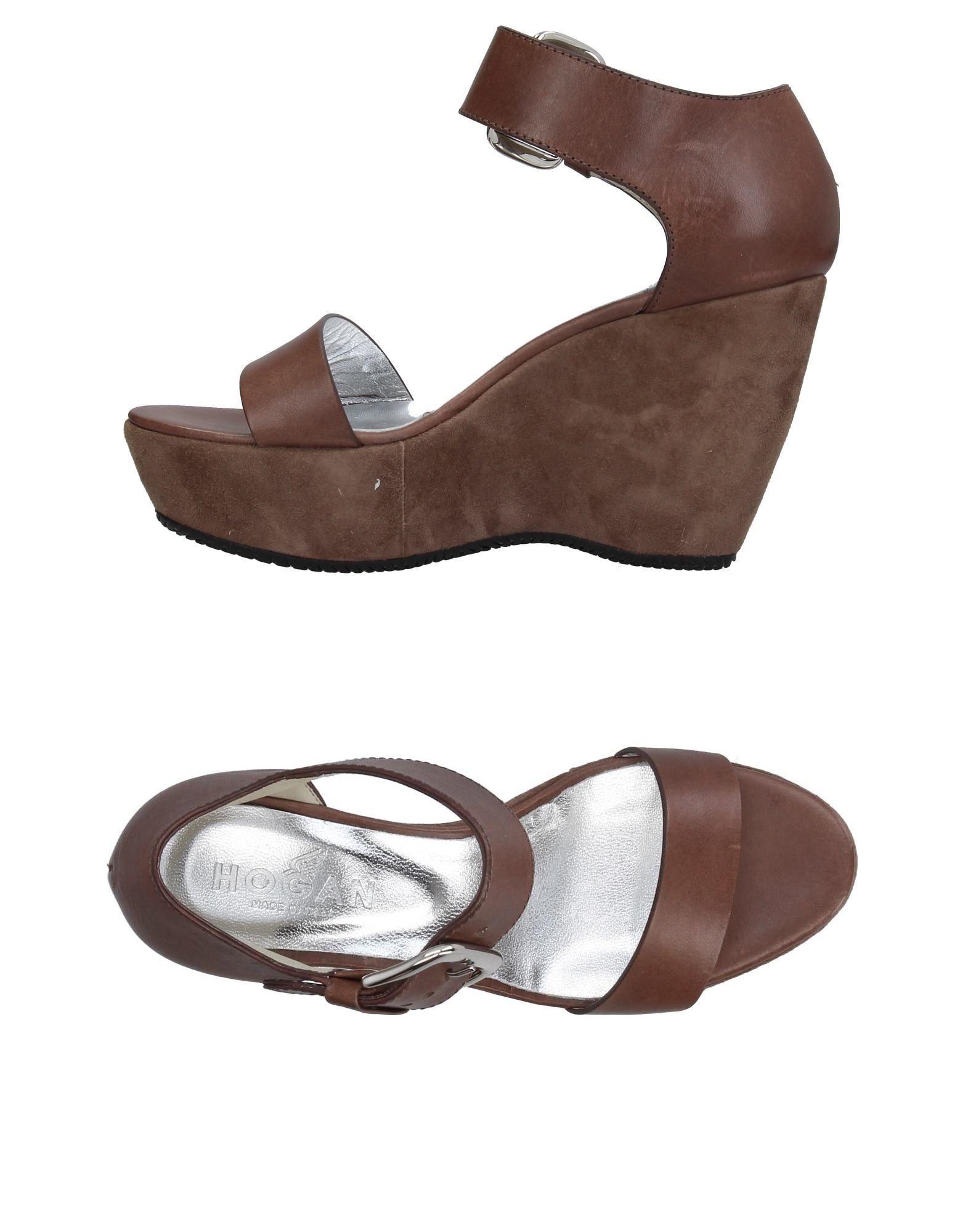 Stilvolle billige Schuhe Hogan Sandalen Damen  11397252LI