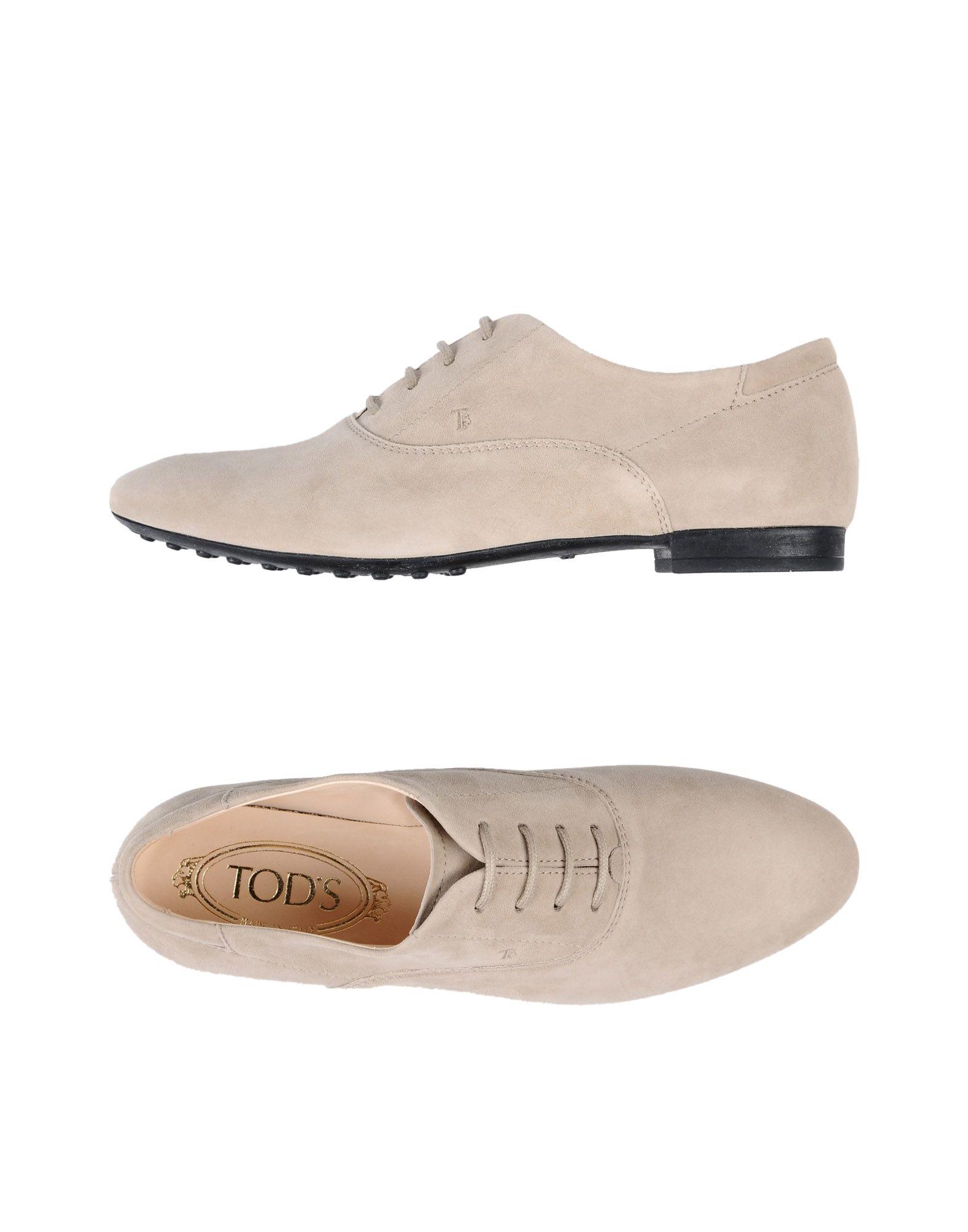 Haltbare Mode billige Schuhe Tod's Schnürschuhe Damen  11397721PR Heiße Schuhe