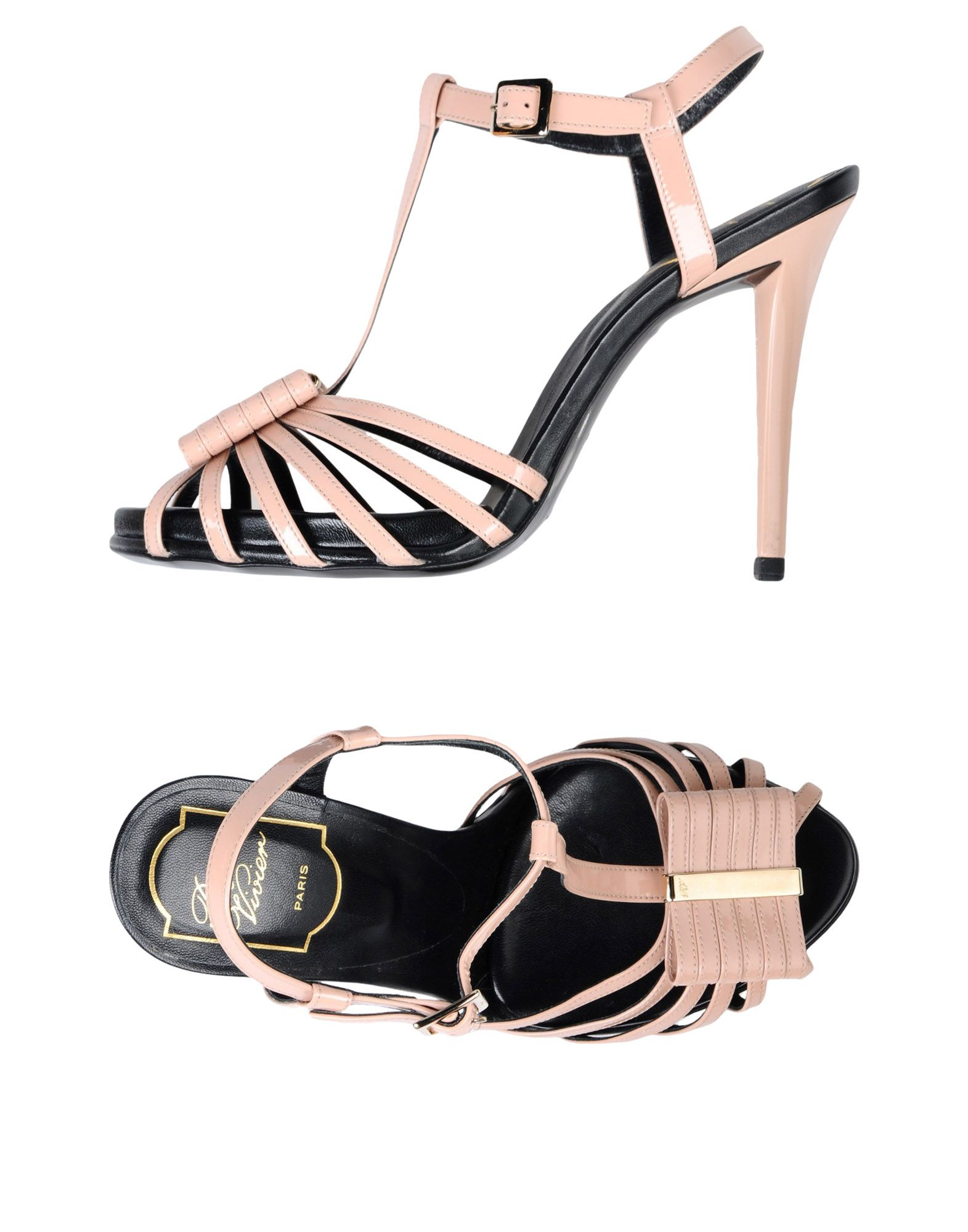 Stilvolle billige Schuhe Roger Vivier Sandalen Damen  11397745QB