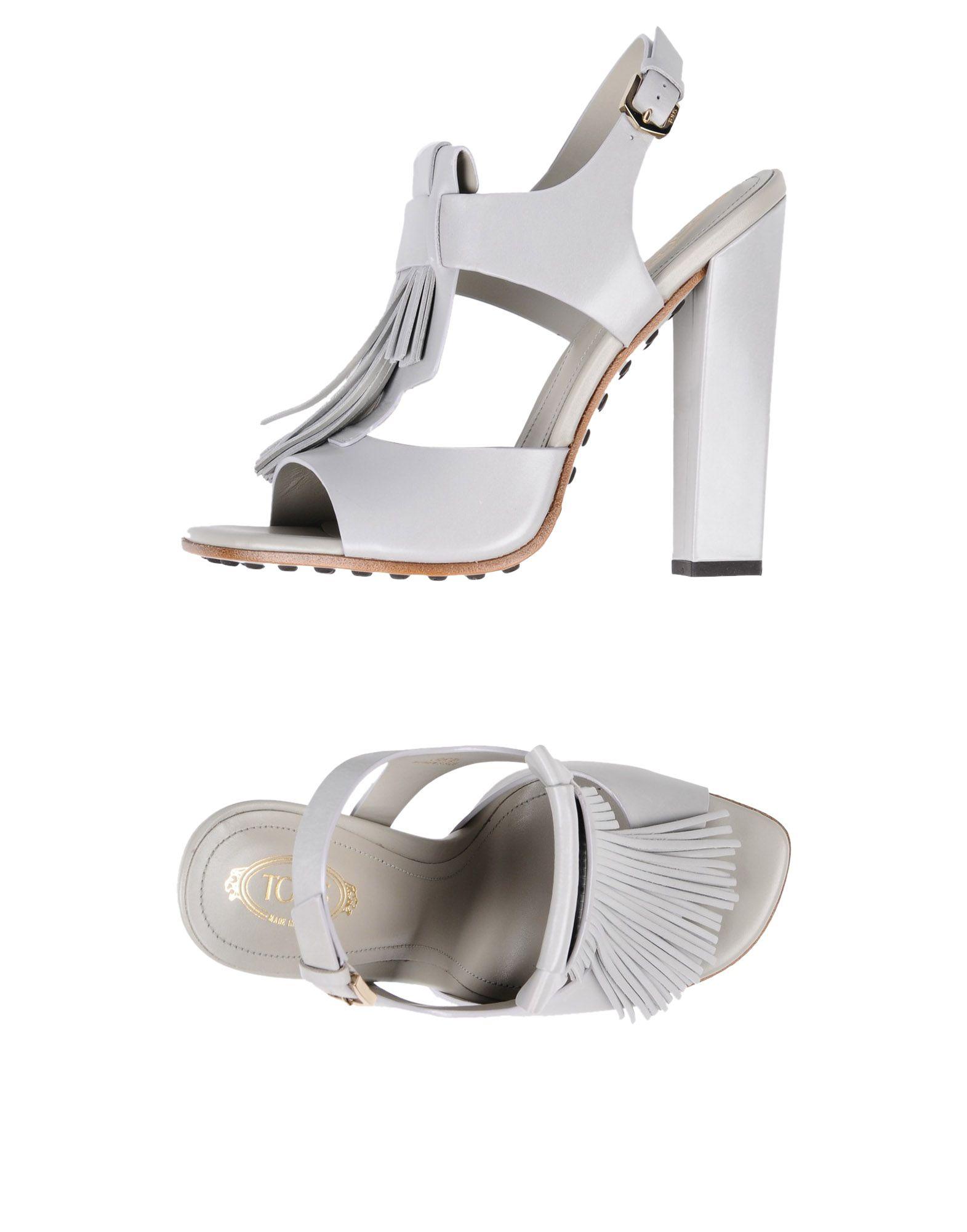 Tod's Sandalen Damen  11397858GEGut aussehende strapazierfähige Schuhe