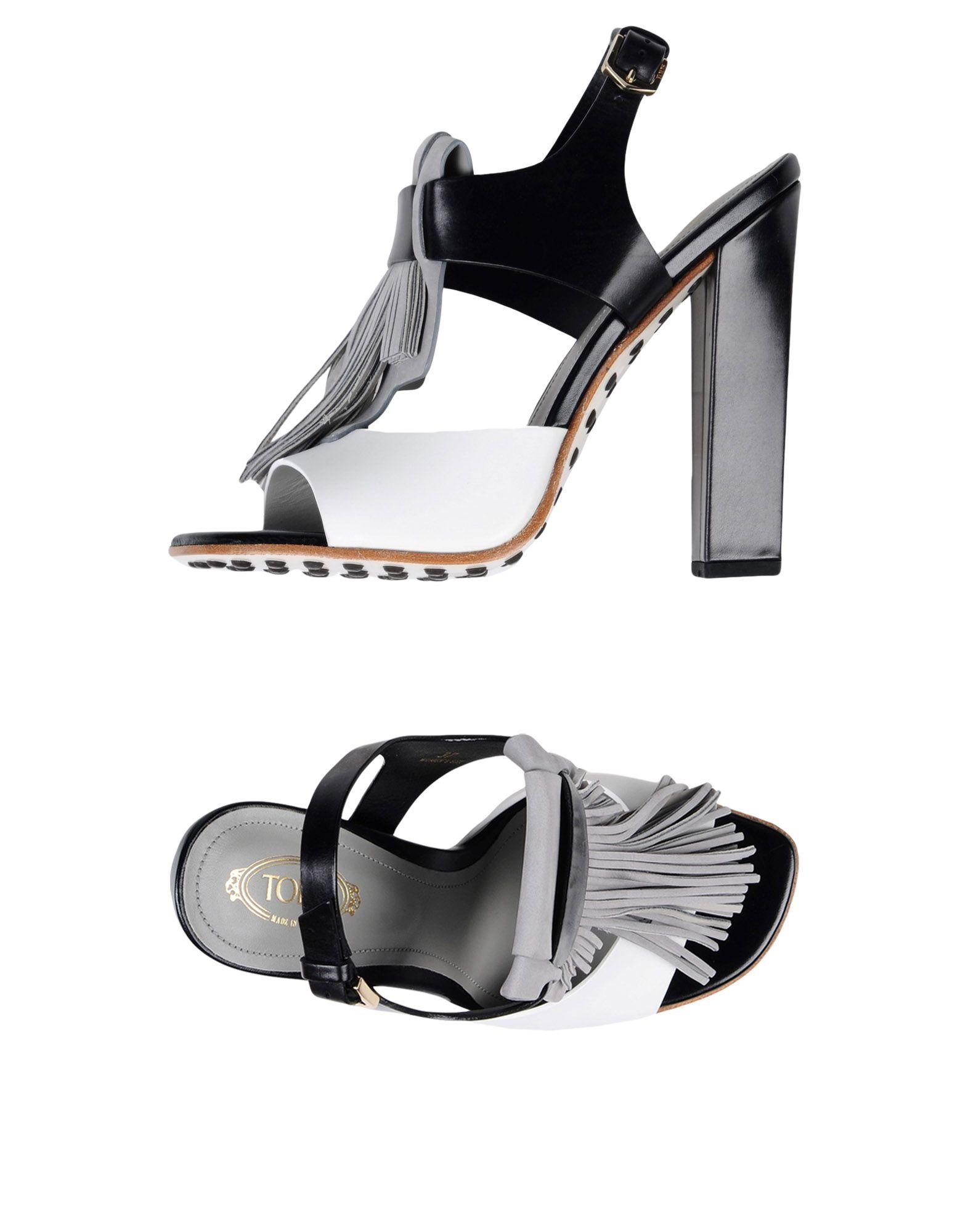 Tod's aussehende Sandalen Damen  11397875URGut aussehende Tod's strapazierfähige Schuhe 93cbcd