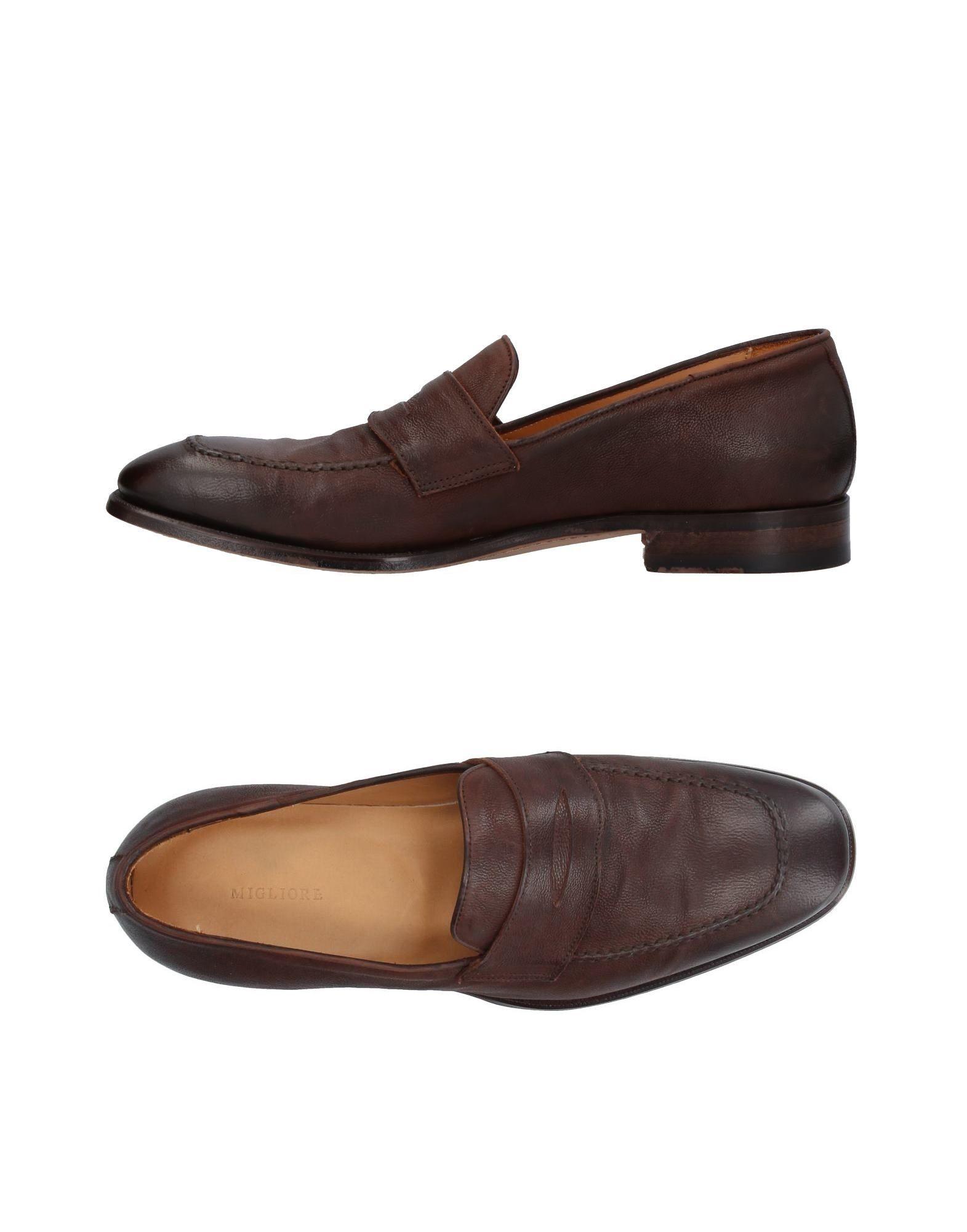 Rabatt echte Schuhe Migliore Mokassins Herren  11398395XB
