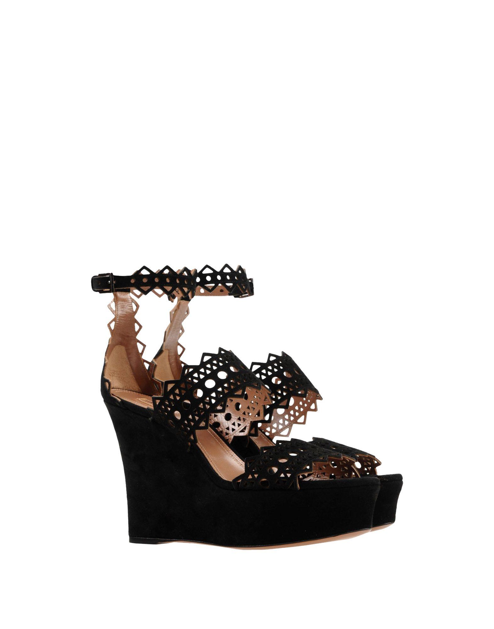 Alaïa Sandalen Damen Damen Sandalen  11398541VK Heiße Schuhe c418bf
