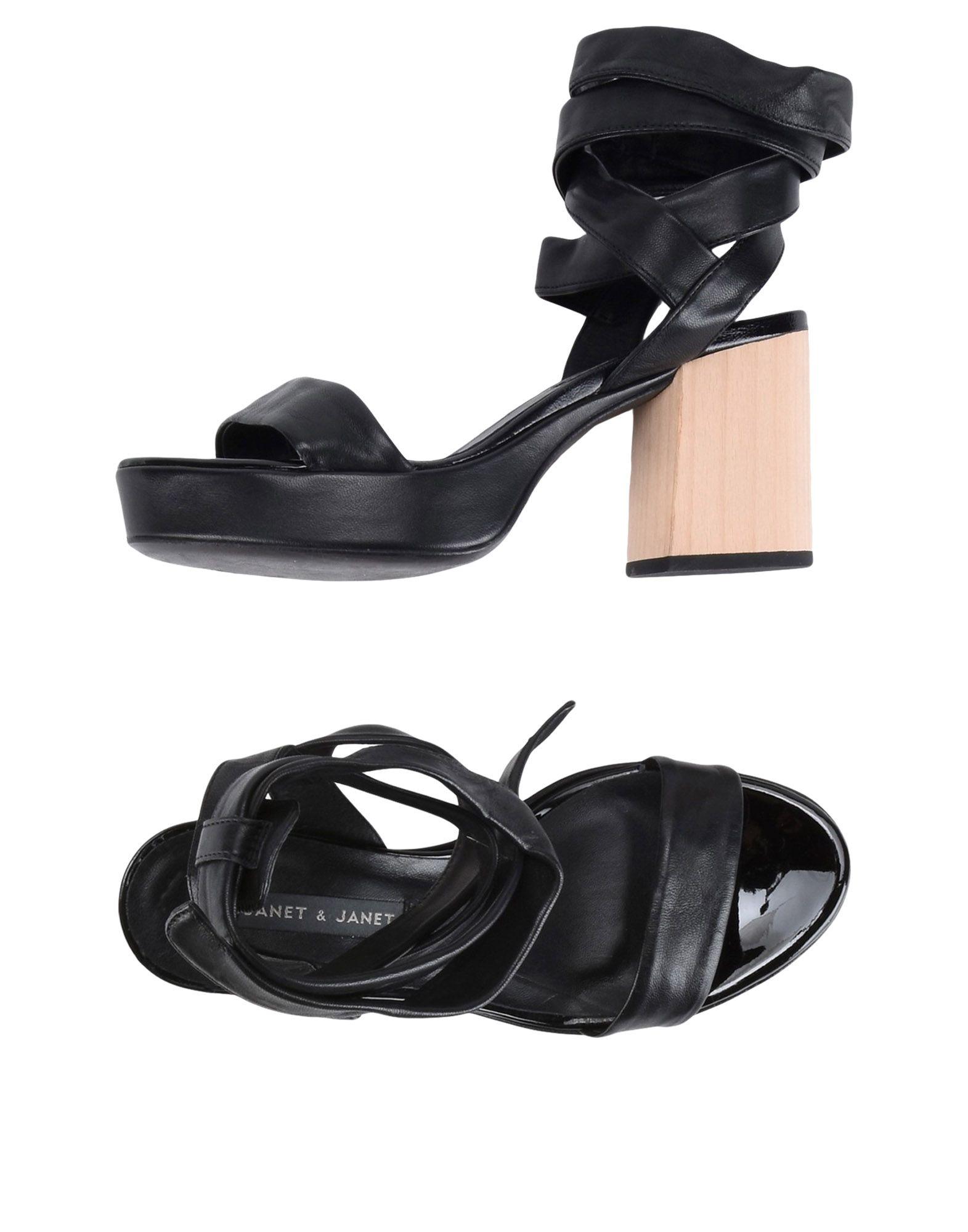 Janet & Janet Sandalen beliebte Damen 11399068FP Gute Qualität beliebte Sandalen Schuhe 093da7