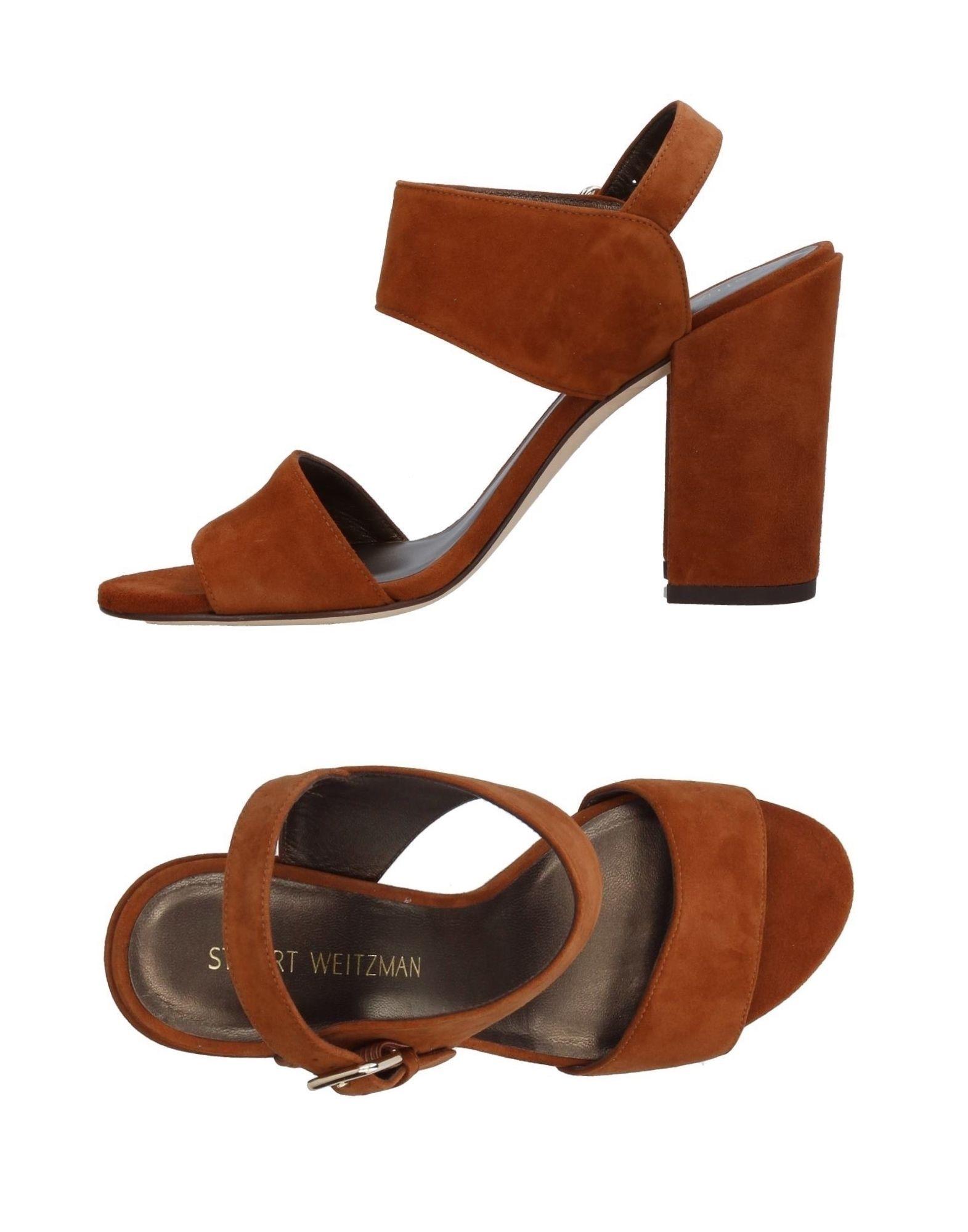 Stuart Weitzman Sandalen Damen  11399112BEGut aussehende strapazierfähige Schuhe