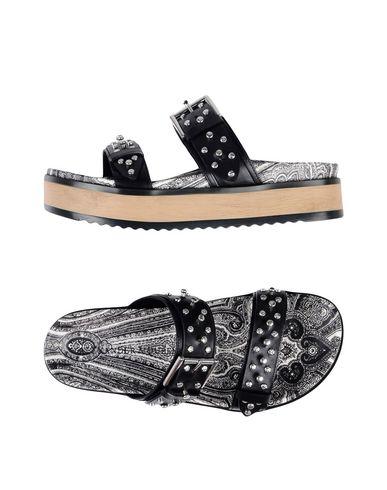 Los zapatos más populares para Alexander hombres y mujeres Sandalia Alexander para Mcque Mujer - Sandalias Alexander Mcque - 11399207VF Negro 3b5777