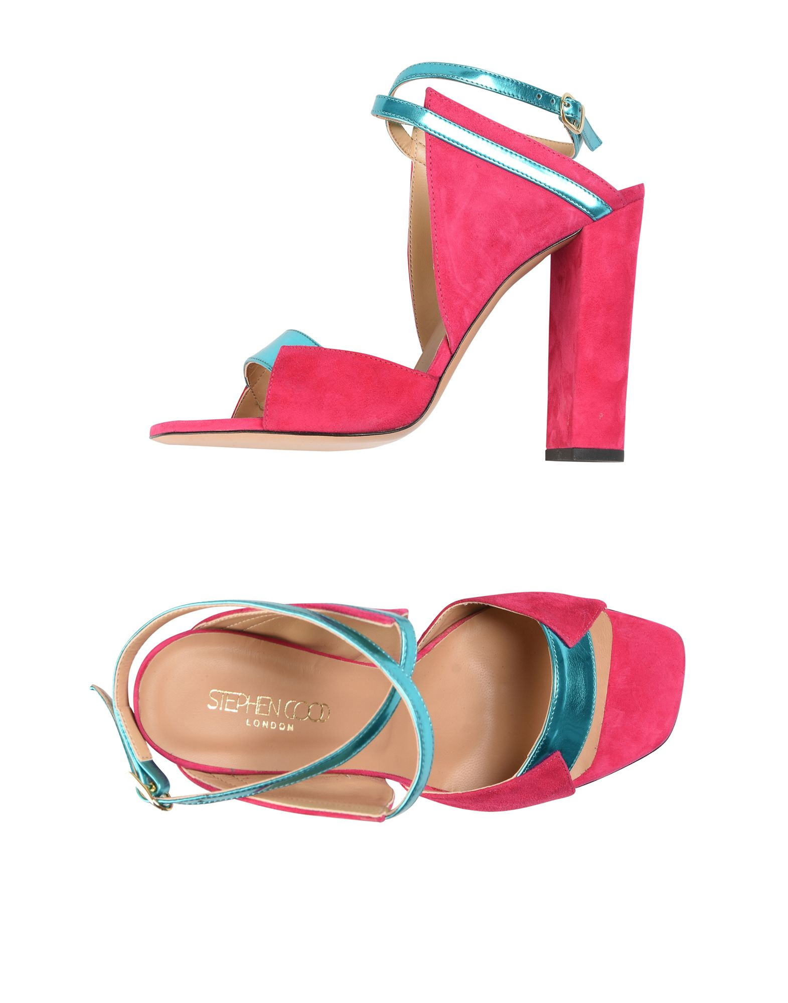 Stilvolle billige Schuhe Stephen Good  London Sandalen Damen  11399247SR