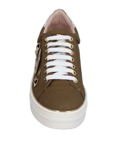 Vert Militaire Couture Renzi® Gianni Sneakers xtqw80vRX