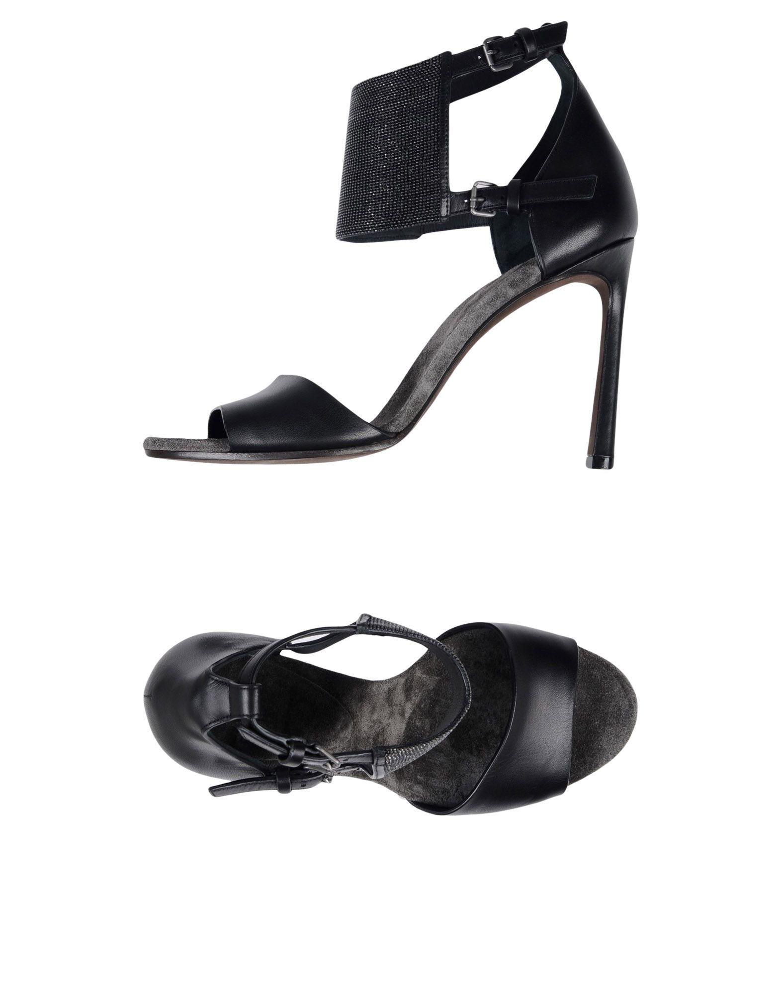 Brunello Cucinelli Sandalen Damen Beliebte  11399444NV Beliebte Damen Schuhe b84ed9