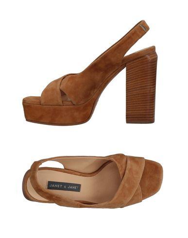 JANET & JANET Sandals Khaki Women