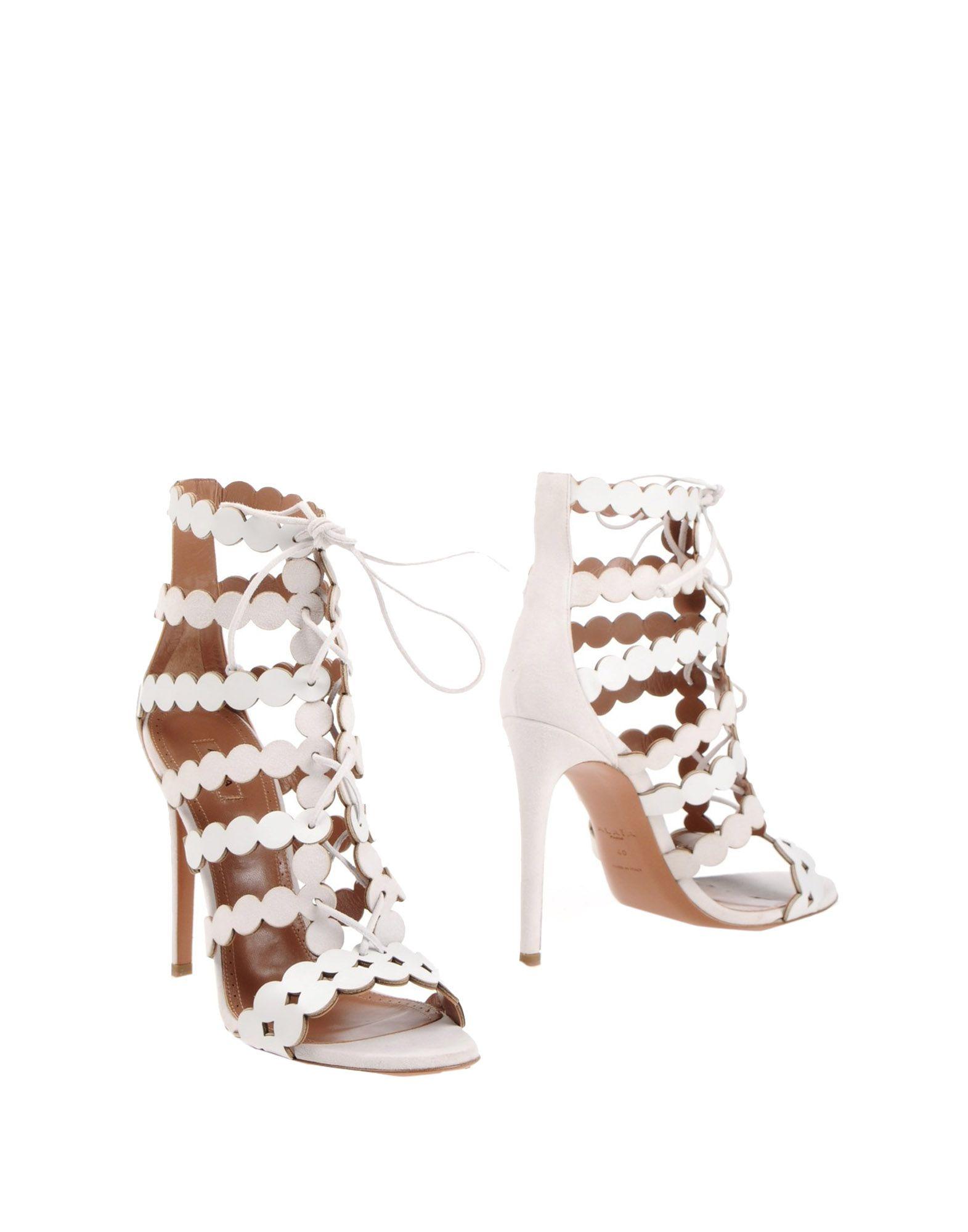 Alaïa Sandalen Damen  11400293SWGünstige gut aussehende Schuhe