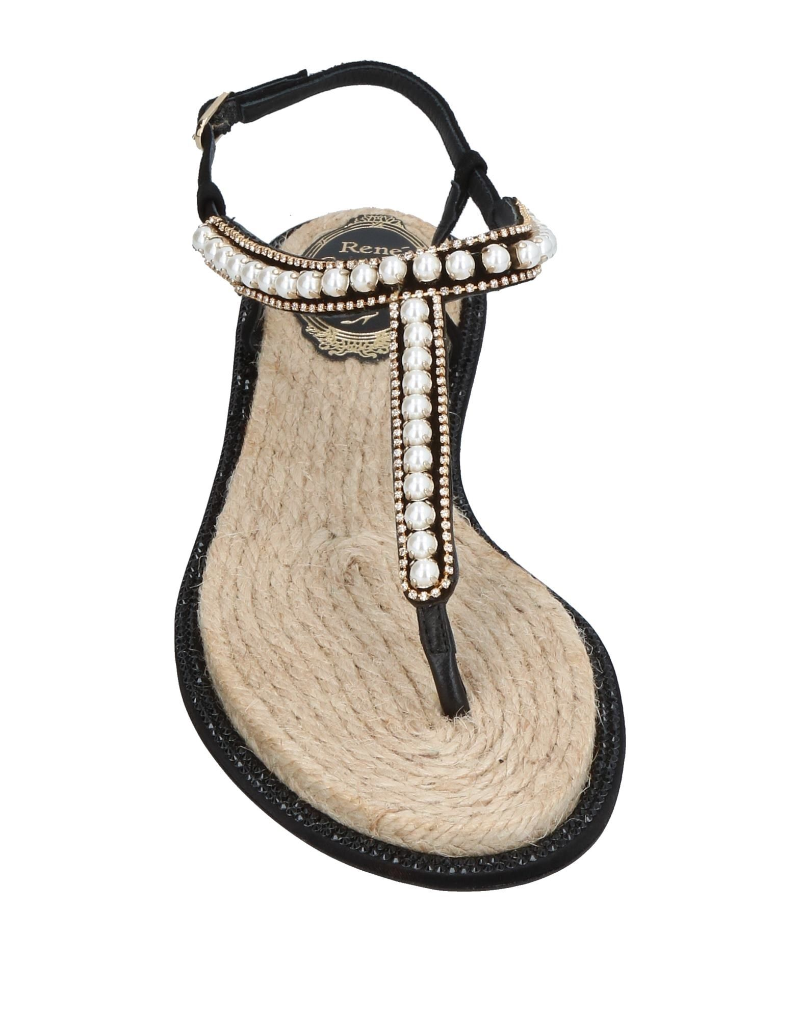 Rene' Damen Caovilla Dianetten Damen Rene'  11400411WLGut aussehende strapazierfähige Schuhe d876f4