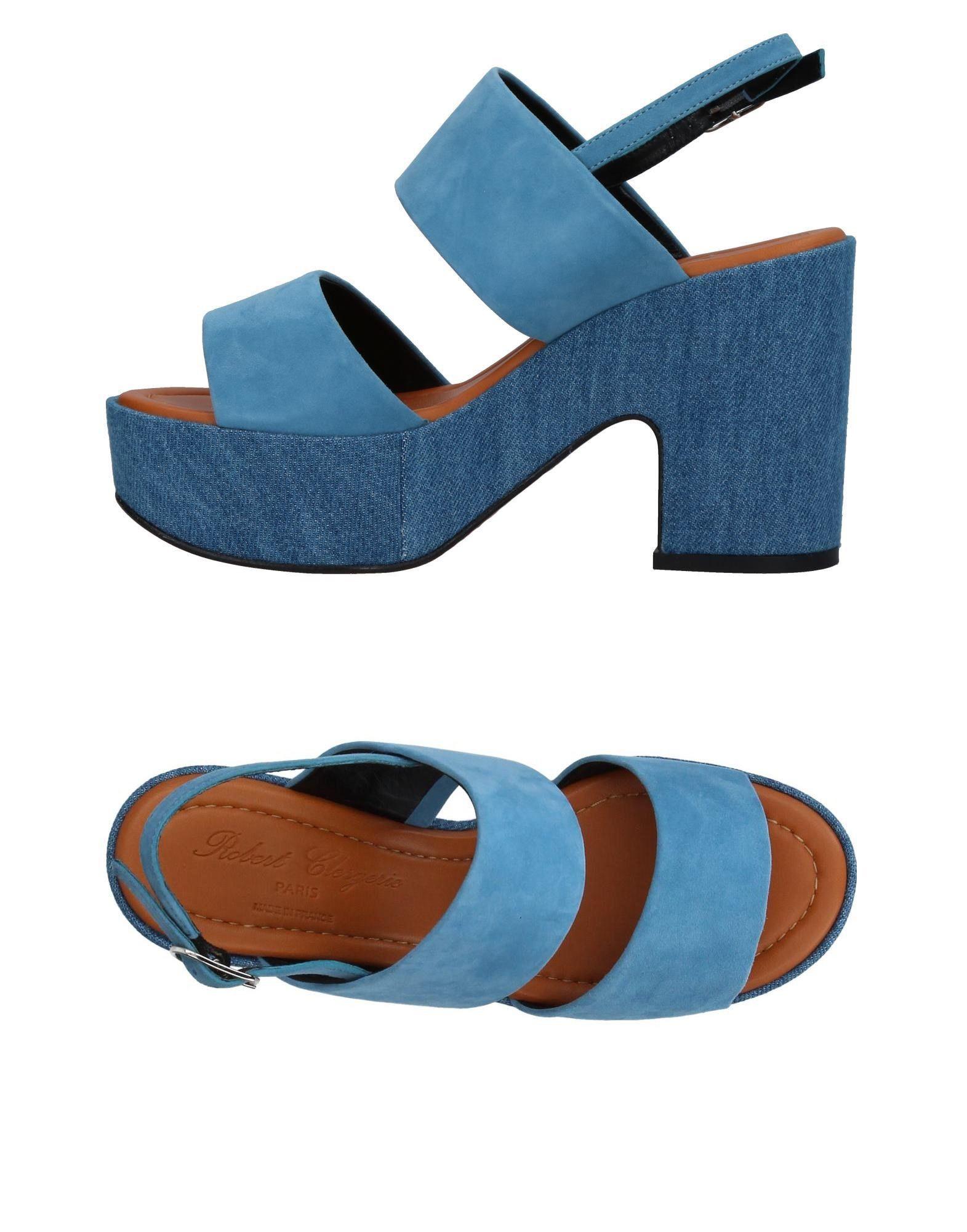 Stilvolle billige Schuhe Damen Robert Clergerie Sandalen Damen Schuhe  11400690RL c48264