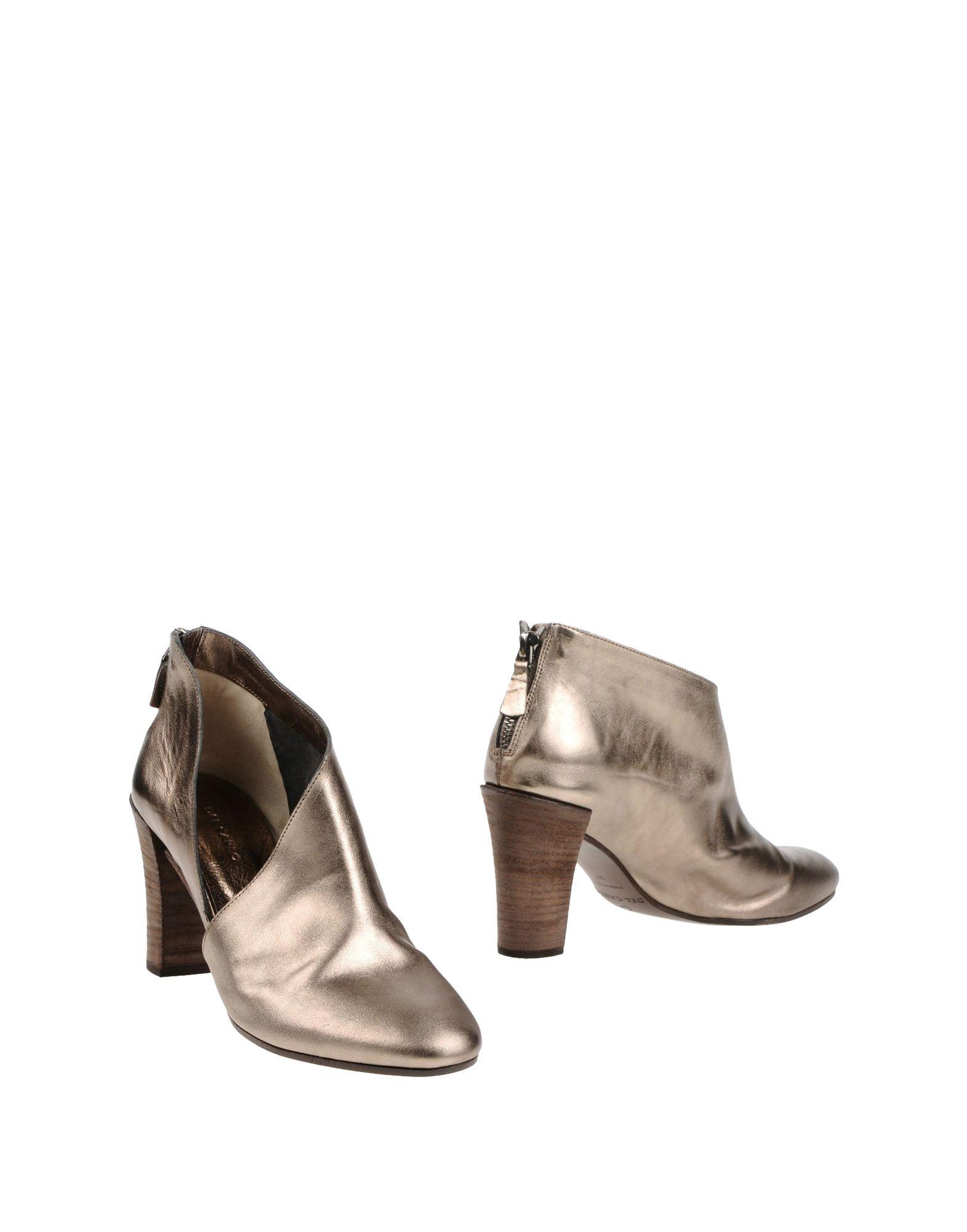 Stilvolle billige Schuhe Del Carlo Stiefelette Damen  11400812SG