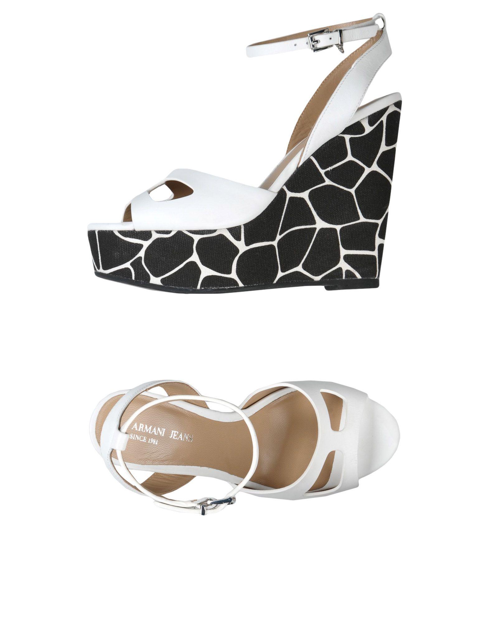 Armani Jeans Sandalen Damen  11400839SS Neue Schuhe