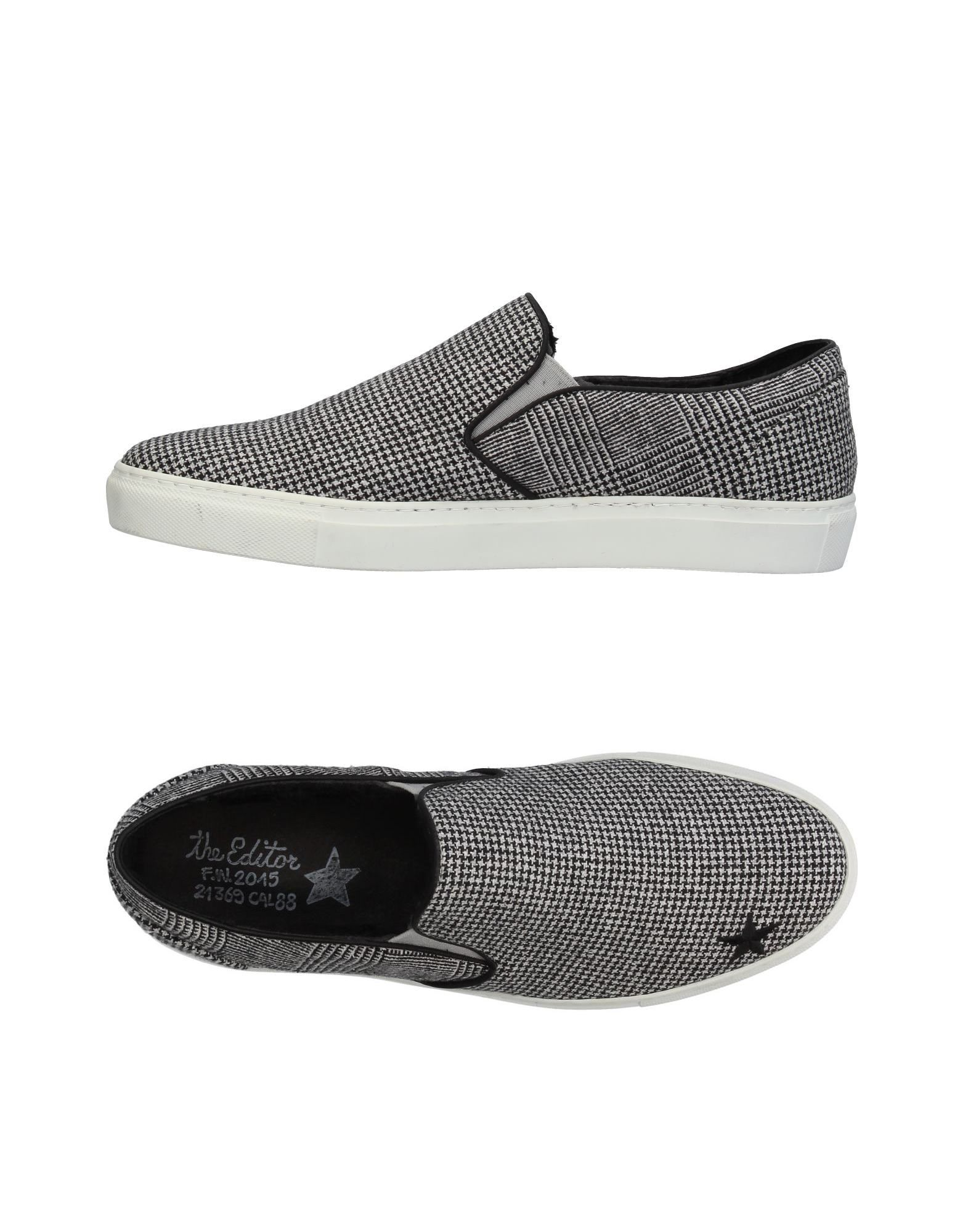 Sneakers The Editor Homme - Sneakers The Editor  Noir Chaussures casual sauvages