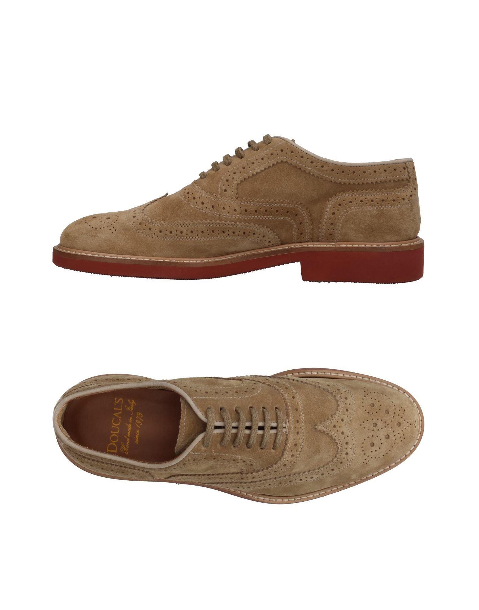 Rabatt echte Schuhe Doucal's Schnürschuhe Herren  11401381IM