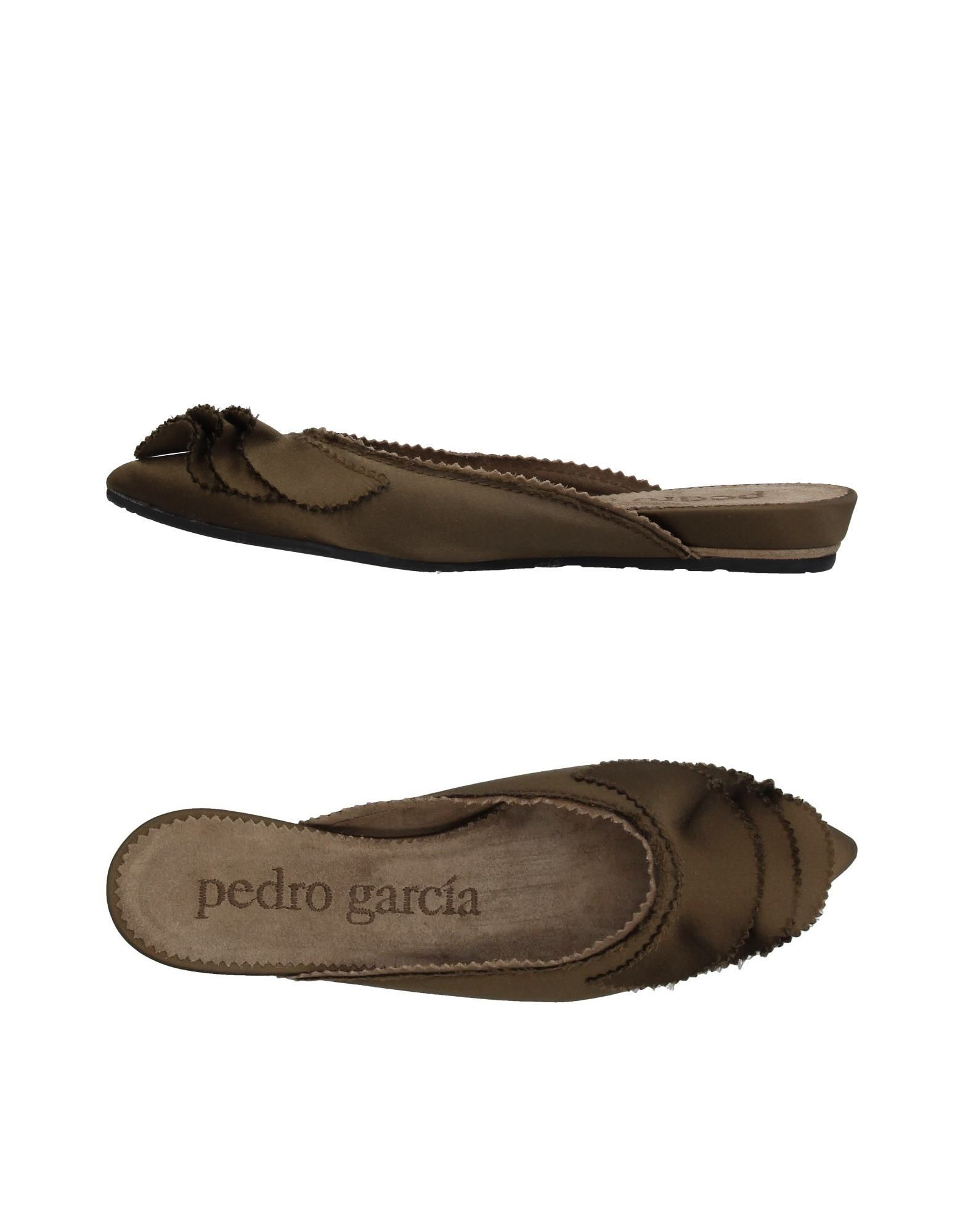 Stilvolle billige Schuhe Pedro  García Pantoletten Damen  Pedro 11402210EI 7ca98d