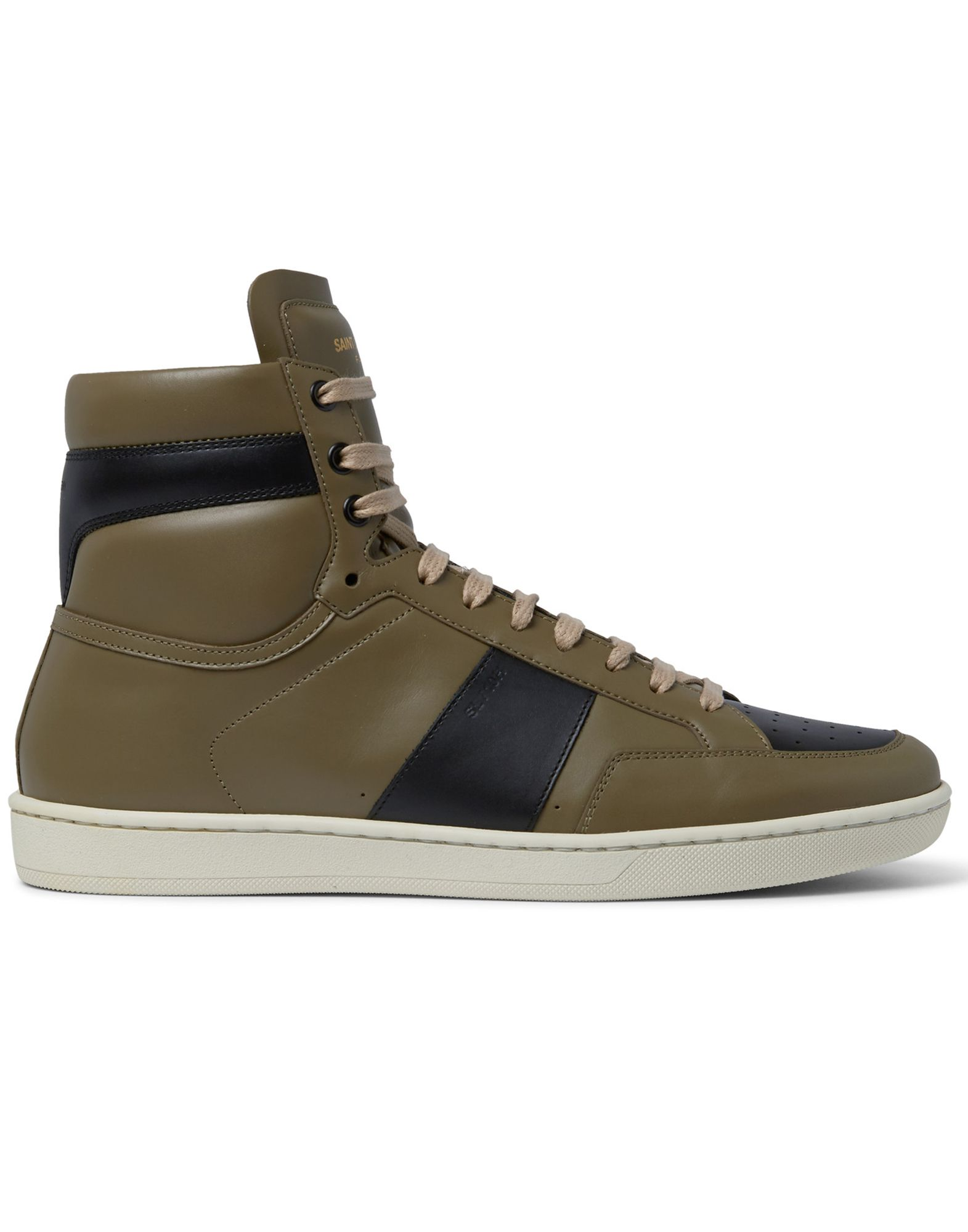 Sneakers Saint Laurent Laurent Homme - Sneakers Saint Laurent Saint  Vert militaire Chaussures femme pas cher homme et femme c049b6