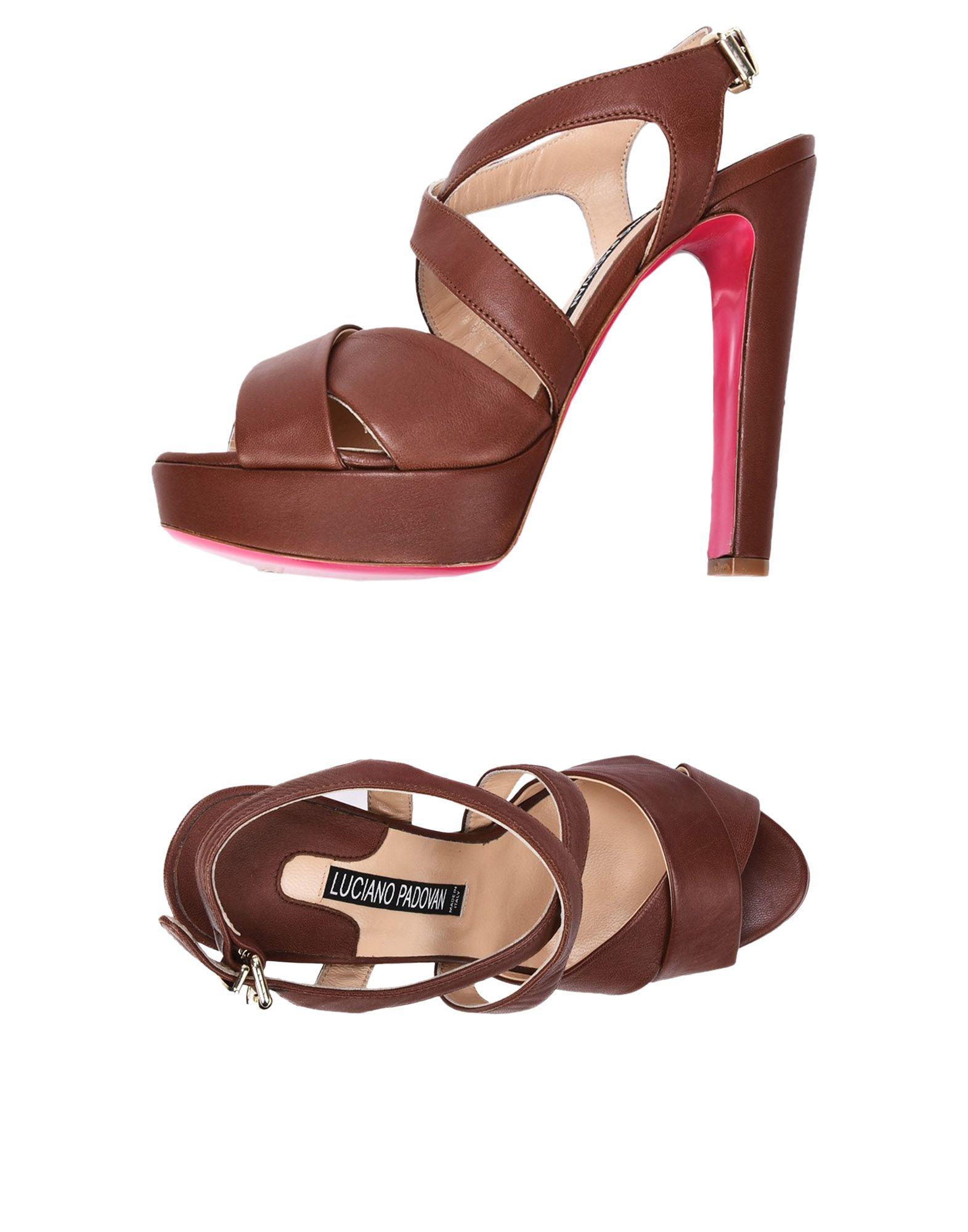 Luciano Padovan Sandalen Damen  11402700BP Gute Qualität beliebte Schuhe