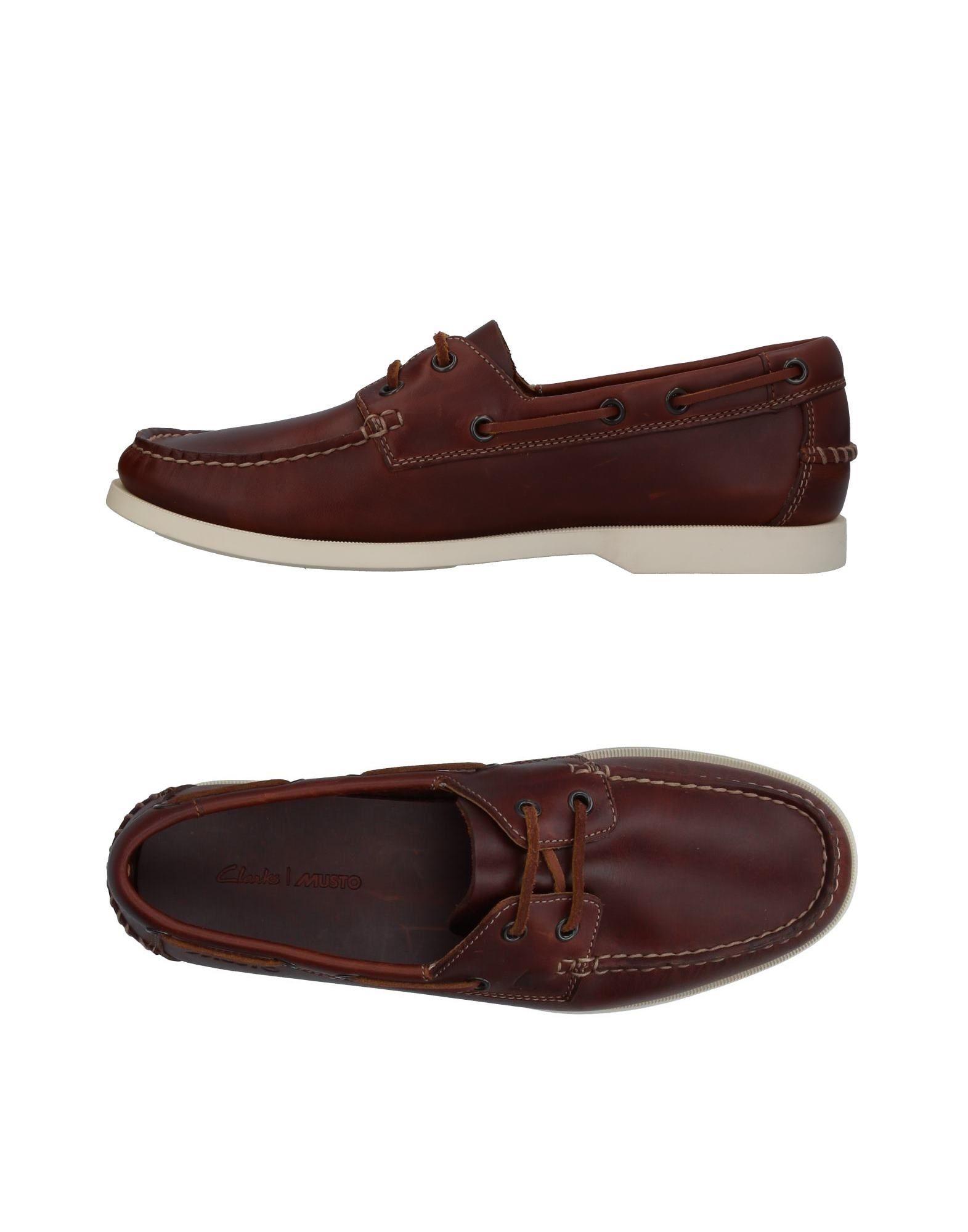 Haltbare Mode billige Schuhe Clarks Mokassins Herren  11403348OH Heiße Schuhe