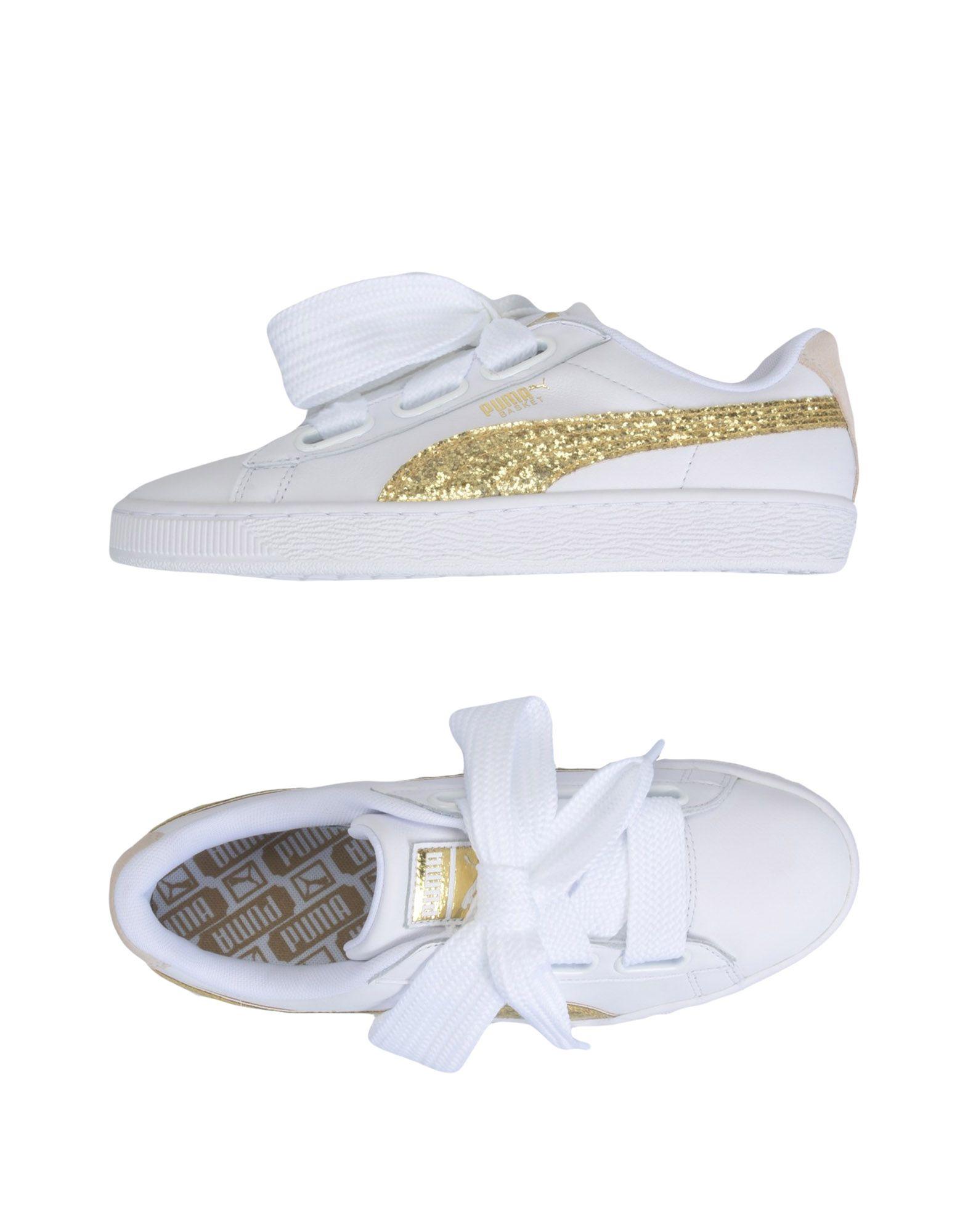 Sneakers Puma Basket Heart Glitter Wns - Femme - Sneakers Puma sur