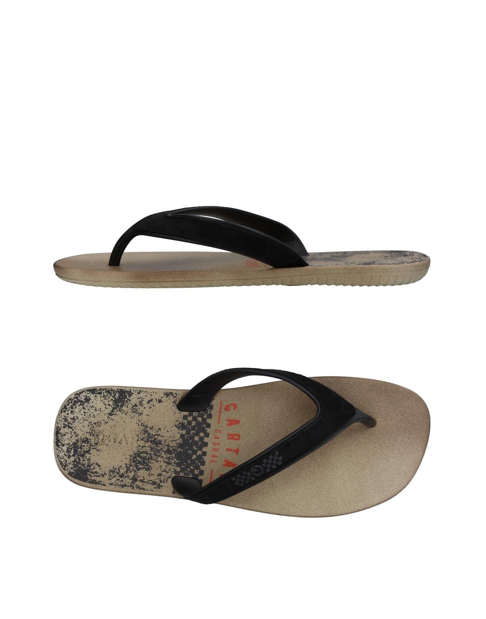 5aade0ac9bdaa Cartago Flip Flops - Men Cartago Flip Flops online on YOOX Hong Kong ...