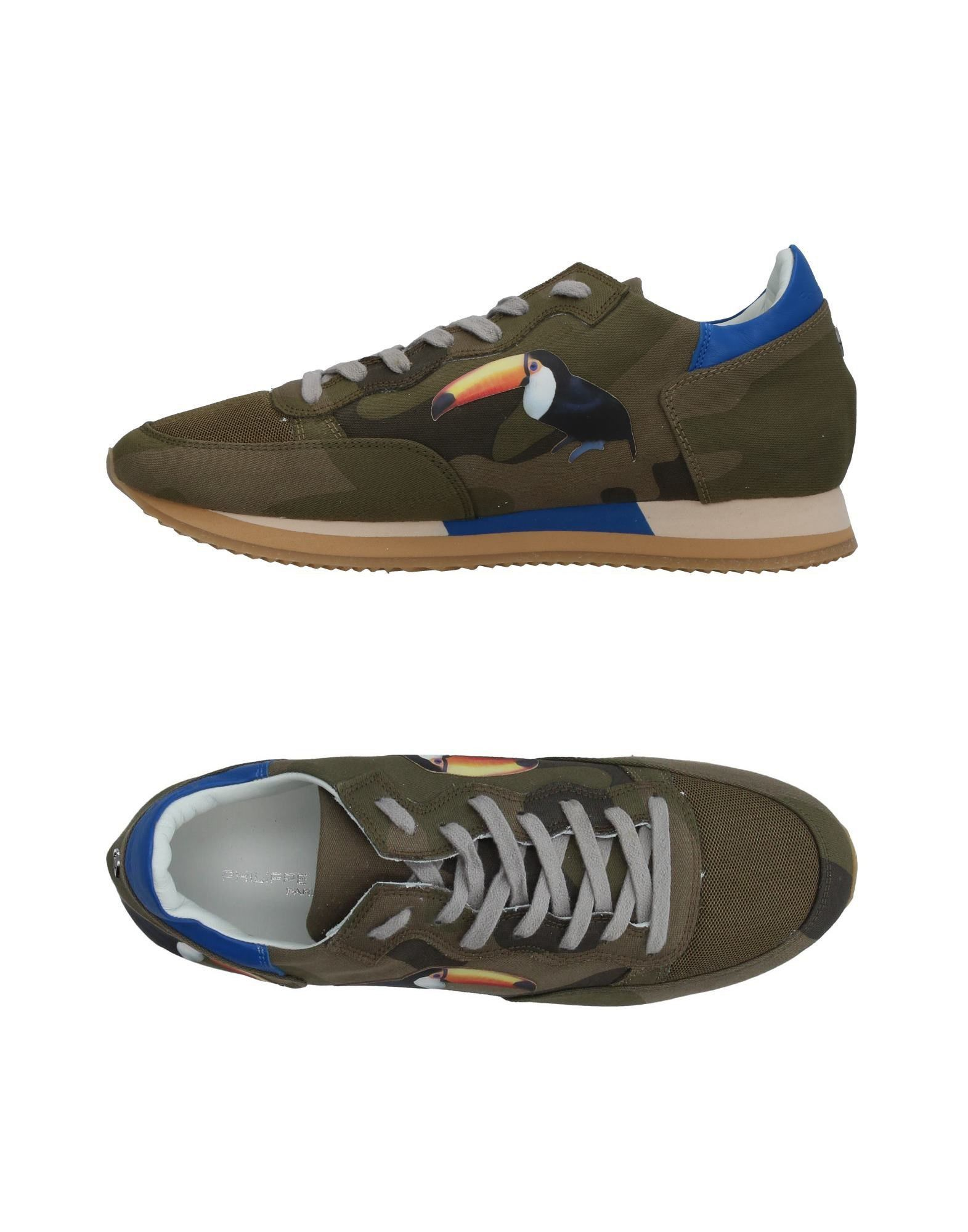 Philippe 11404502WV Model Sneakers Herren  11404502WV Philippe Gute Qualität beliebte Schuhe 7d3a06