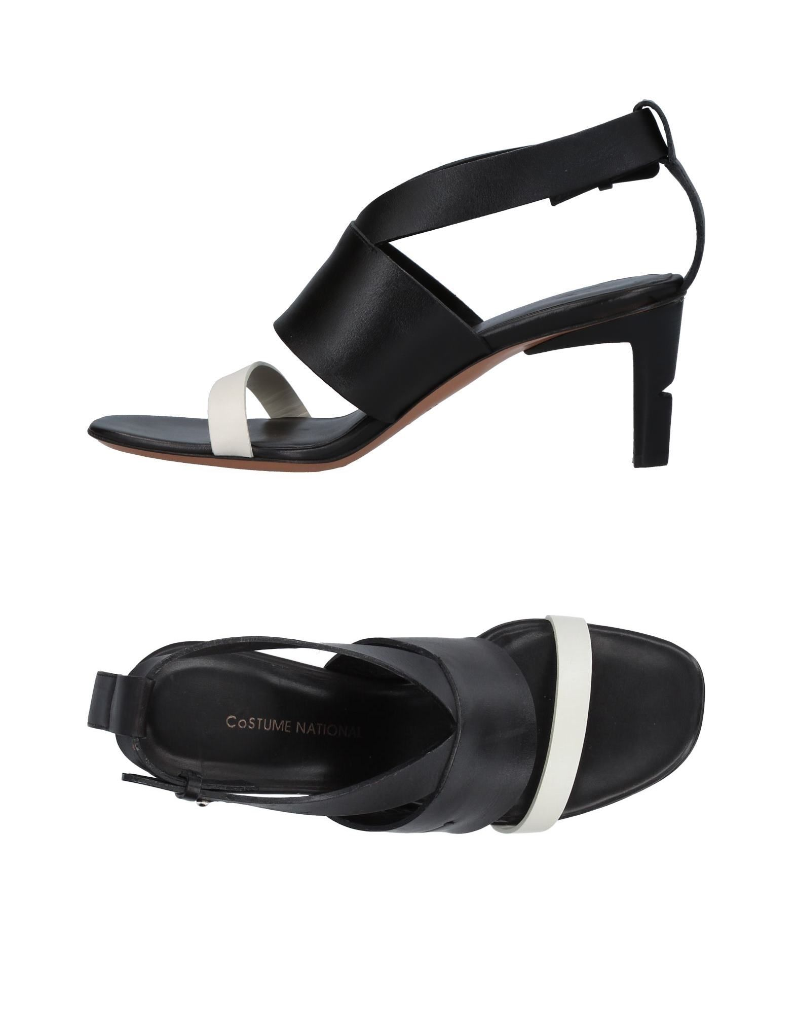 Stilvolle billige Schuhe Costume National Sandalen Damen  11404942KF