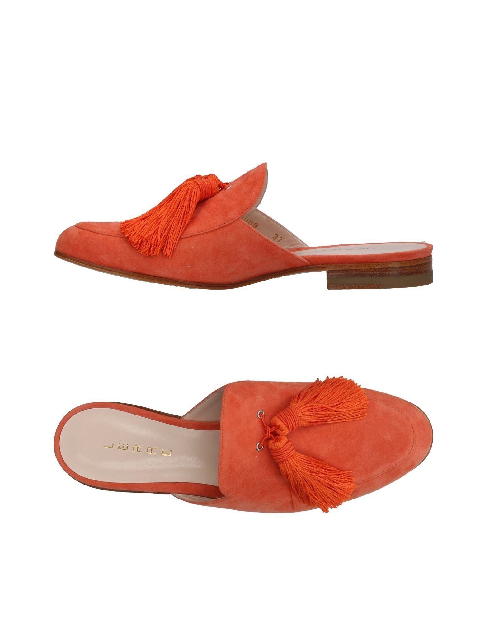 Lerre aussehende Pantoletten Damen  11405205IIGut aussehende Lerre strapazierfähige Schuhe b30129