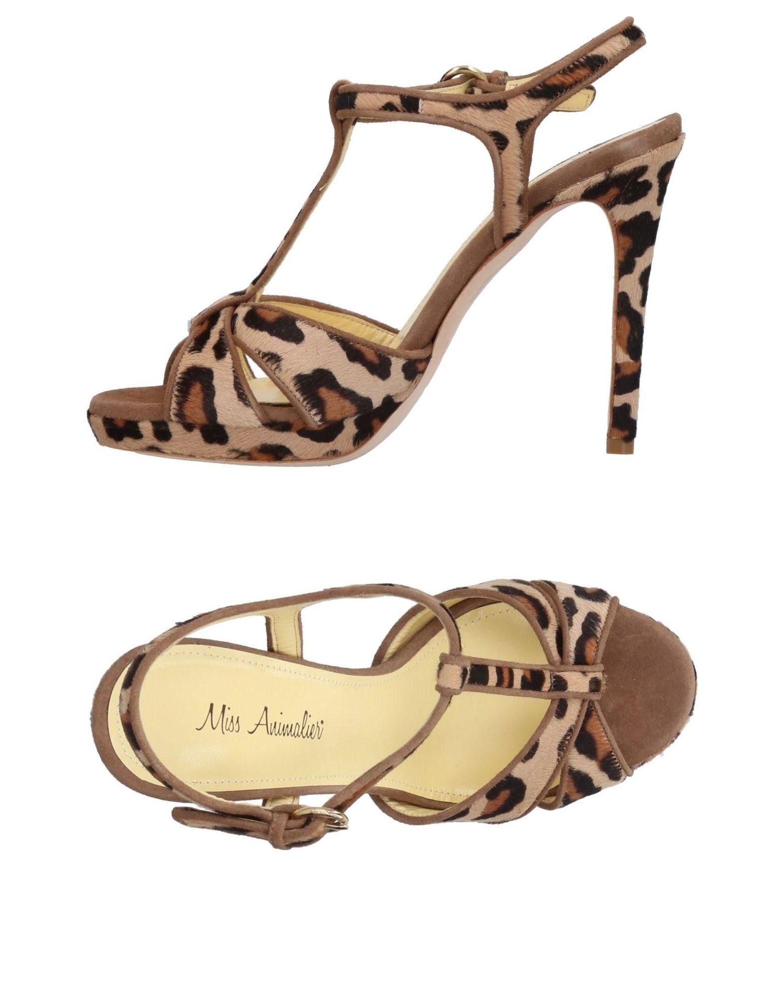 Miss Animalier® Sandalen Damen  11405467ES Gute Qualität beliebte Schuhe