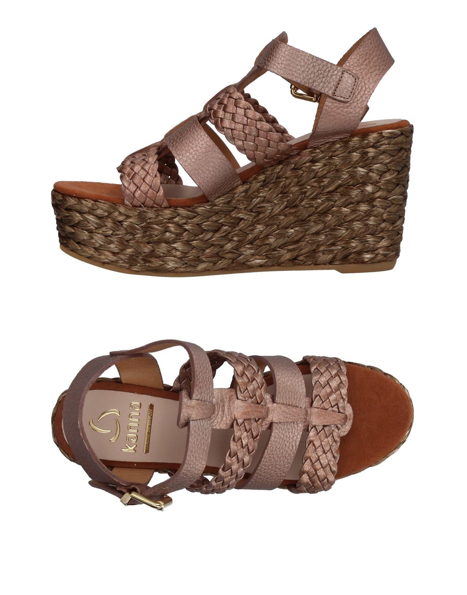 Günstige und modische Schuhe Kanna Sandalen Damen  11405551TO