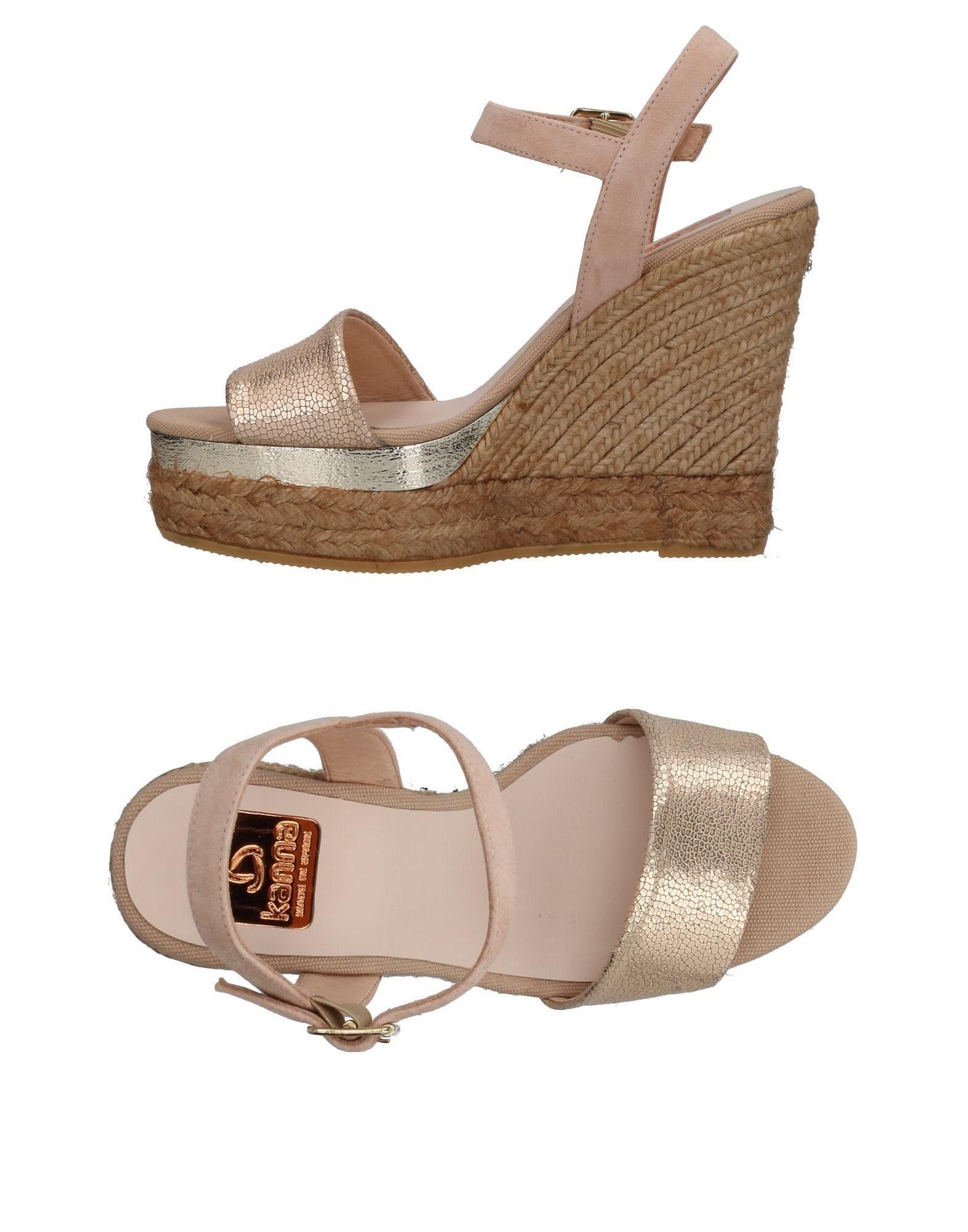Günstige und modische Schuhe Kanna Sandalen Damen  11405603HH