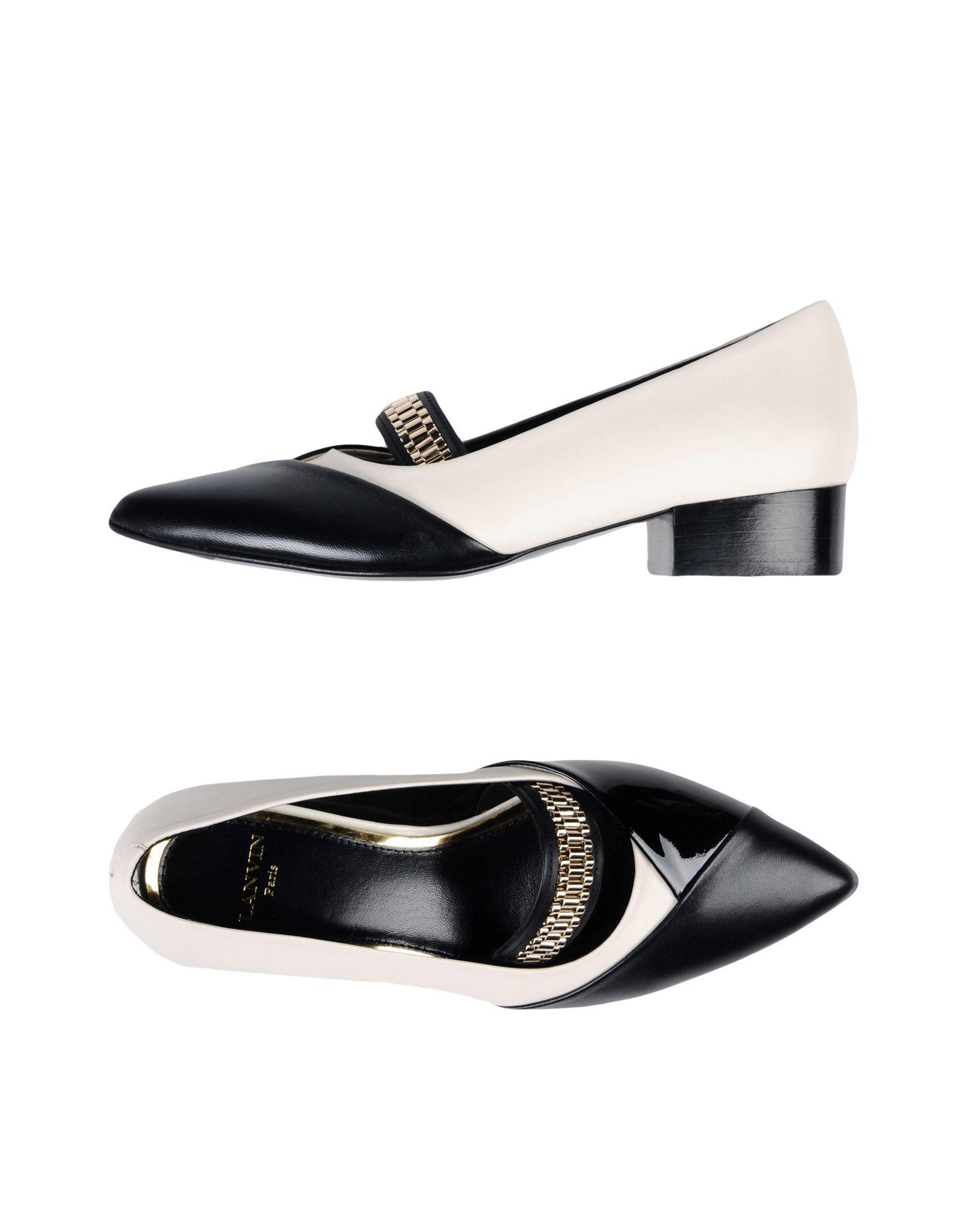 Nuevos zapatos para hombres y mujeres, descuento por tiempo limitado Salón Zapato De Salón limitado Lanvin Mujer - Salones Lanvin  Negro 168a67