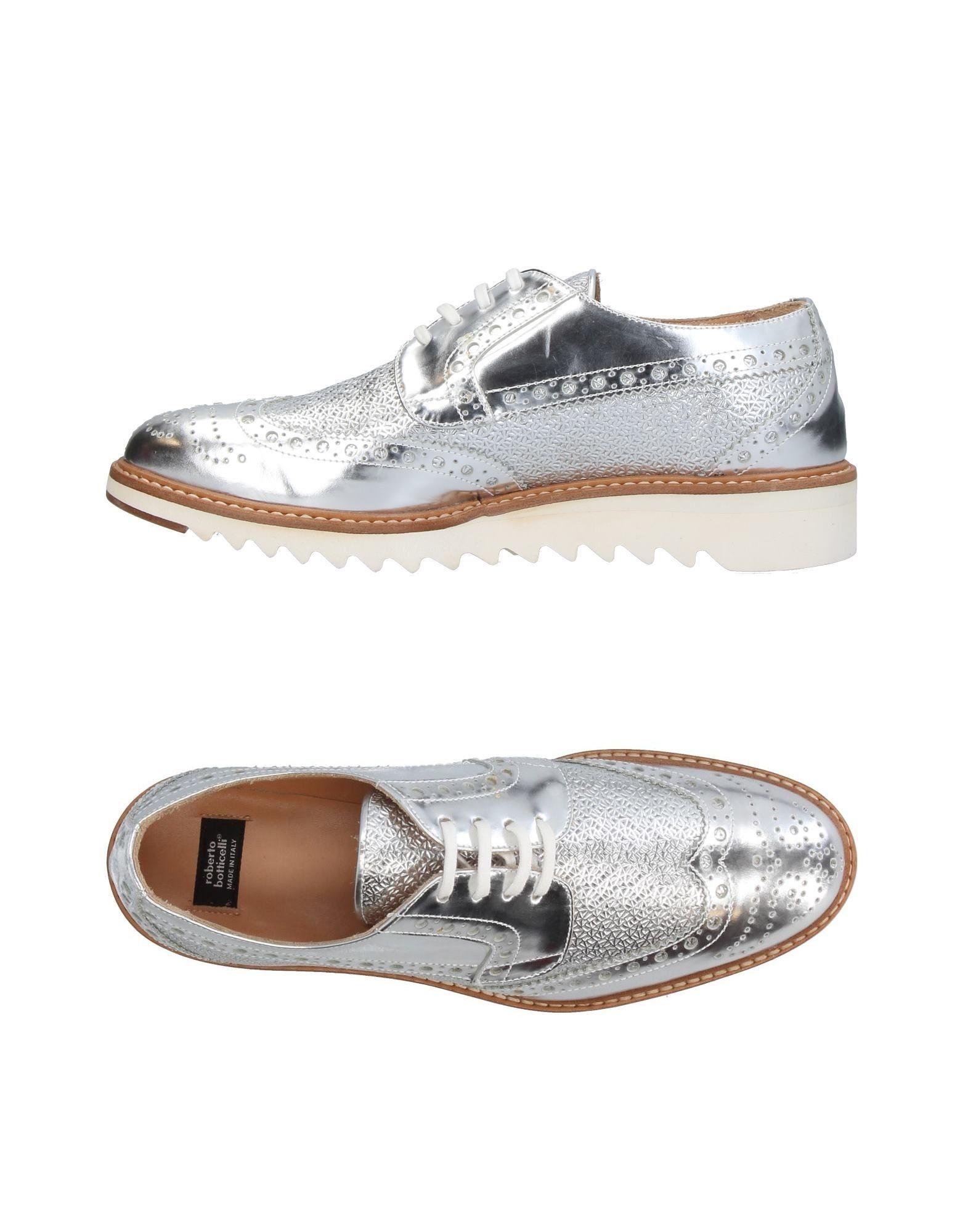 Stilvolle billige Schuhe Roberto Botticelli Schnürschuhe Damen  11406196GD